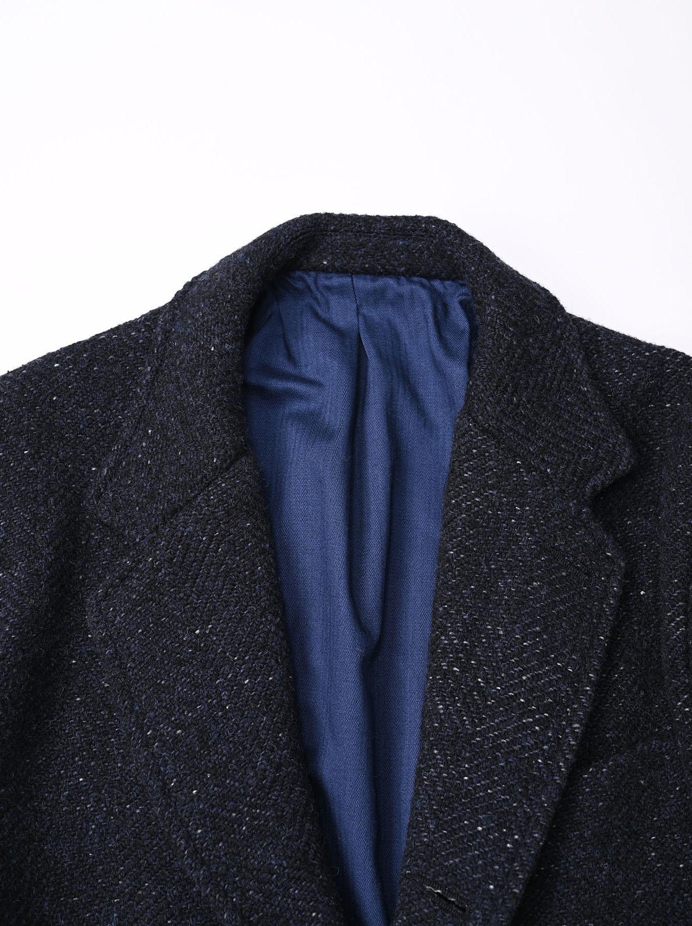 Indigo Tweed Melton Asama Jacket-4