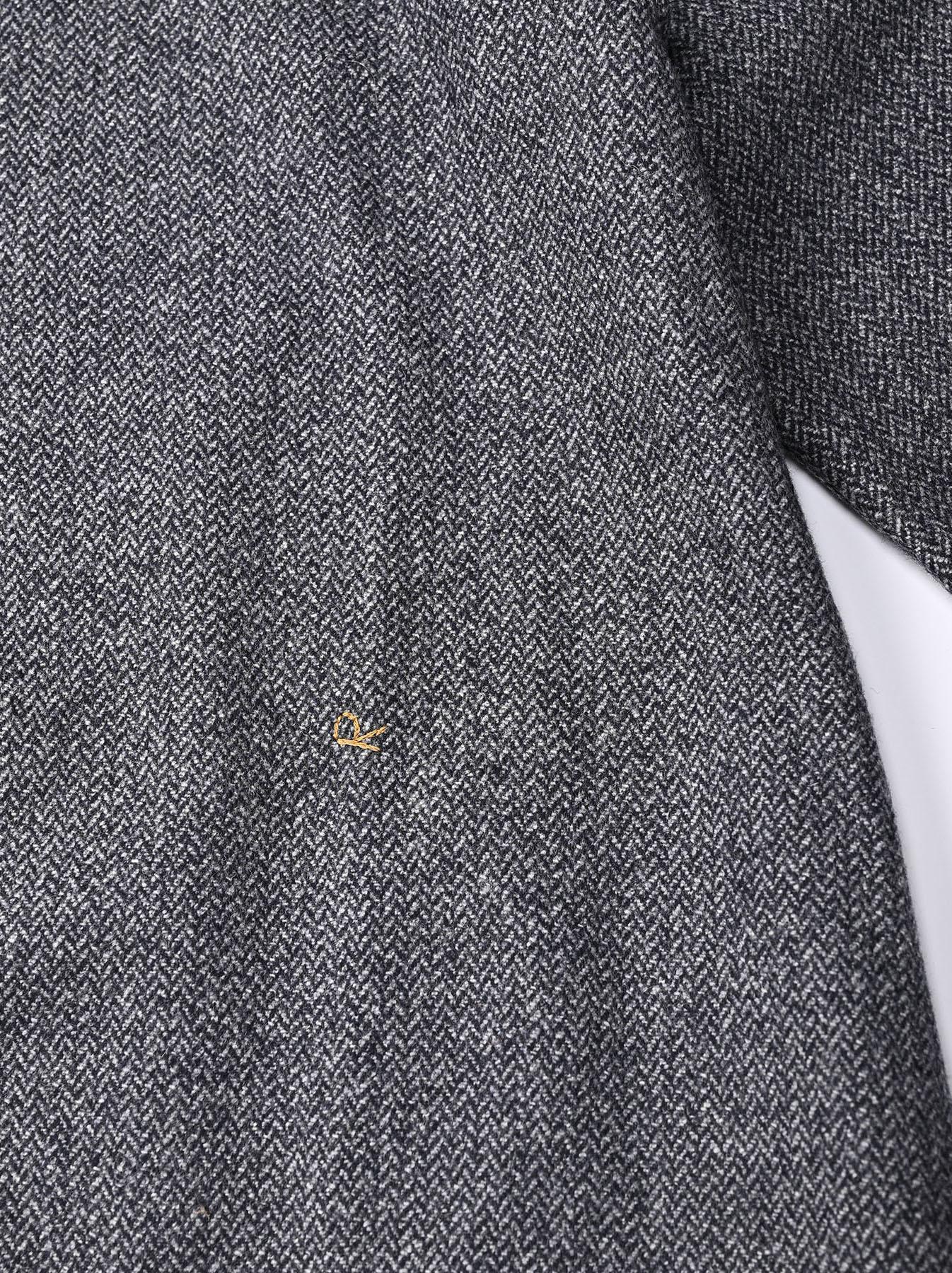 Wool Tweed Stretch Dress-8