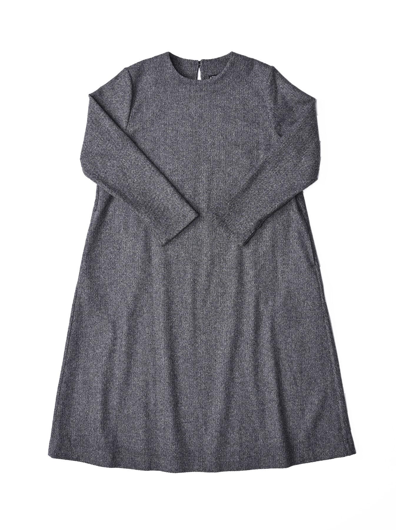 Wool Tweed Stretch Dress-3