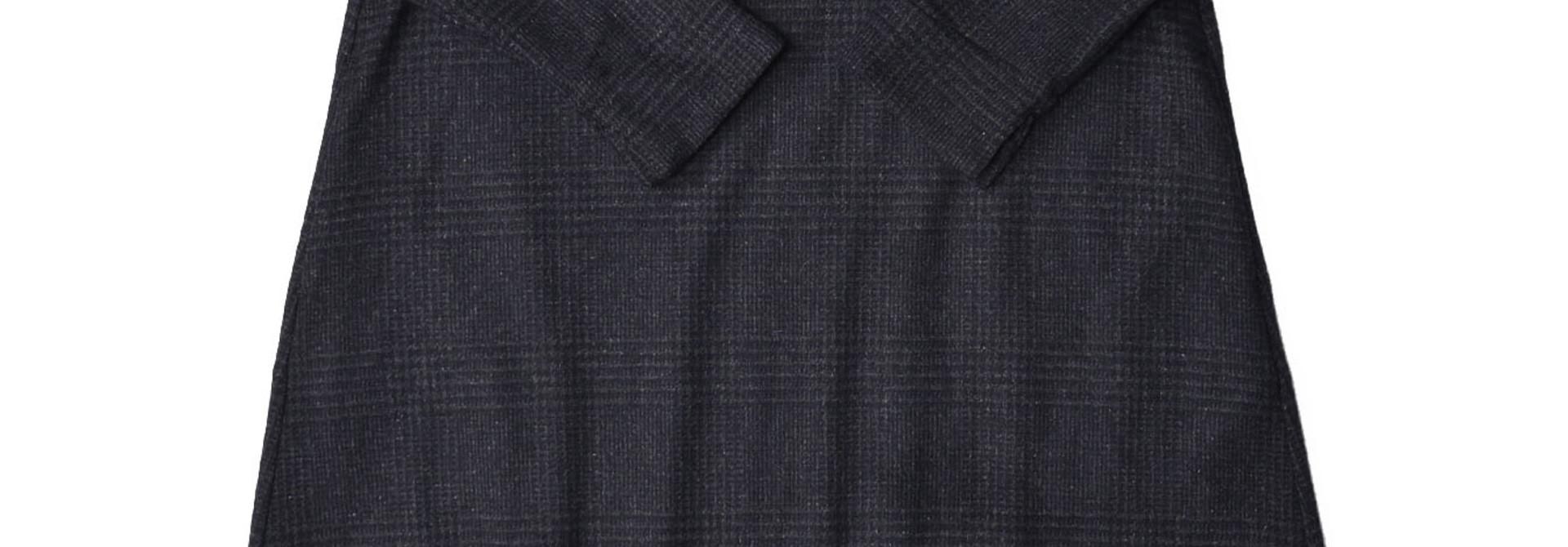 Wool Tweed Stretch Dress
