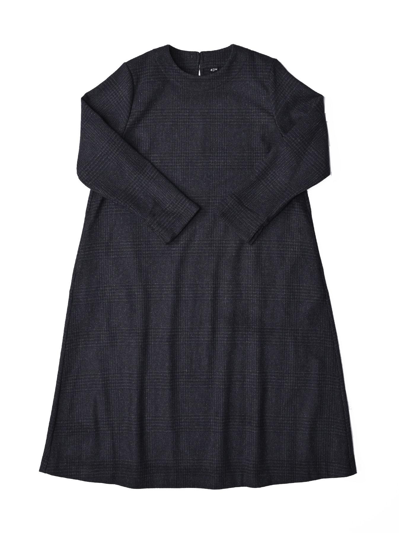 Wool Tweed Stretch Dress-1