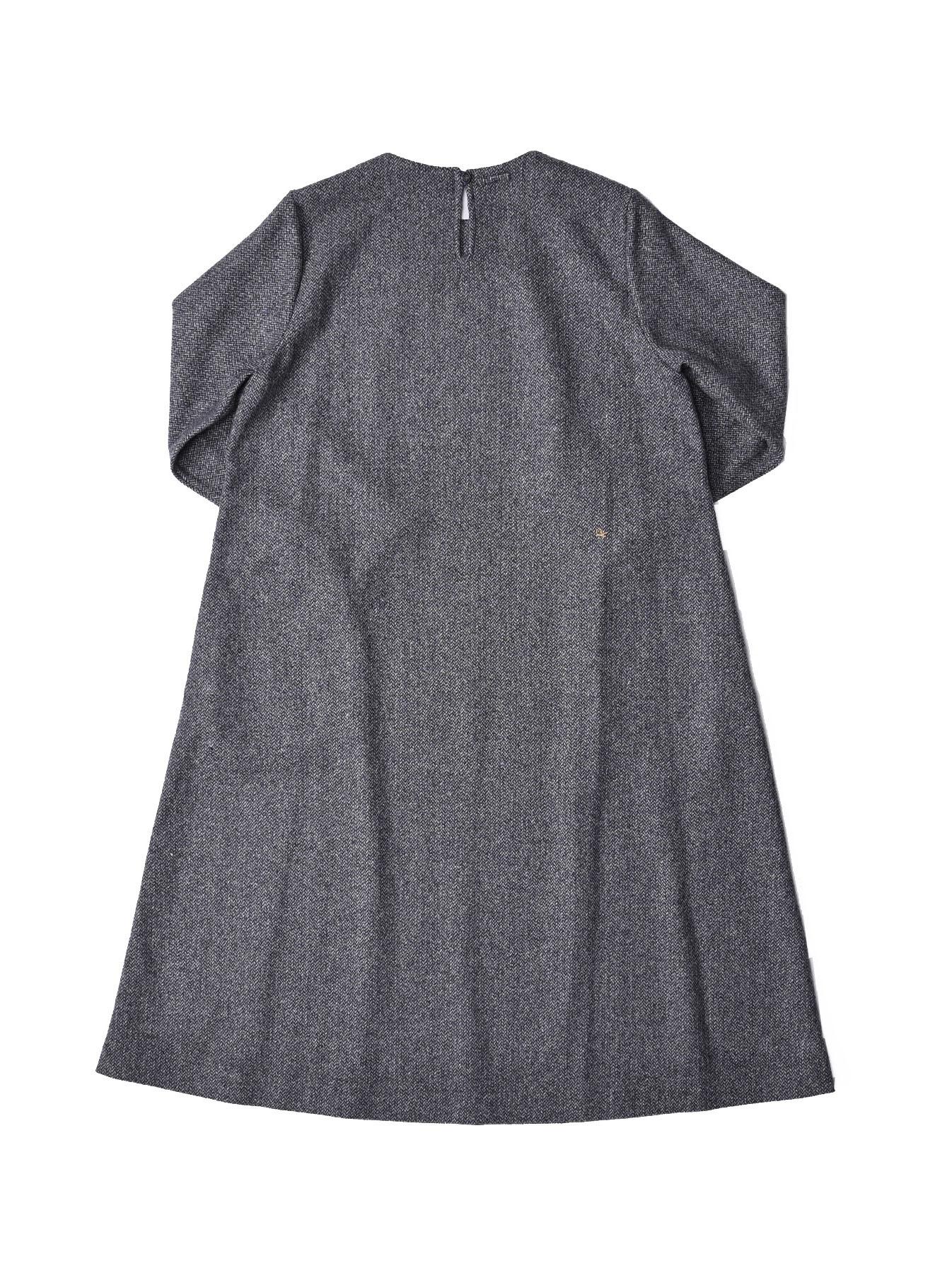 Wool Tweed Stretch Dress-4