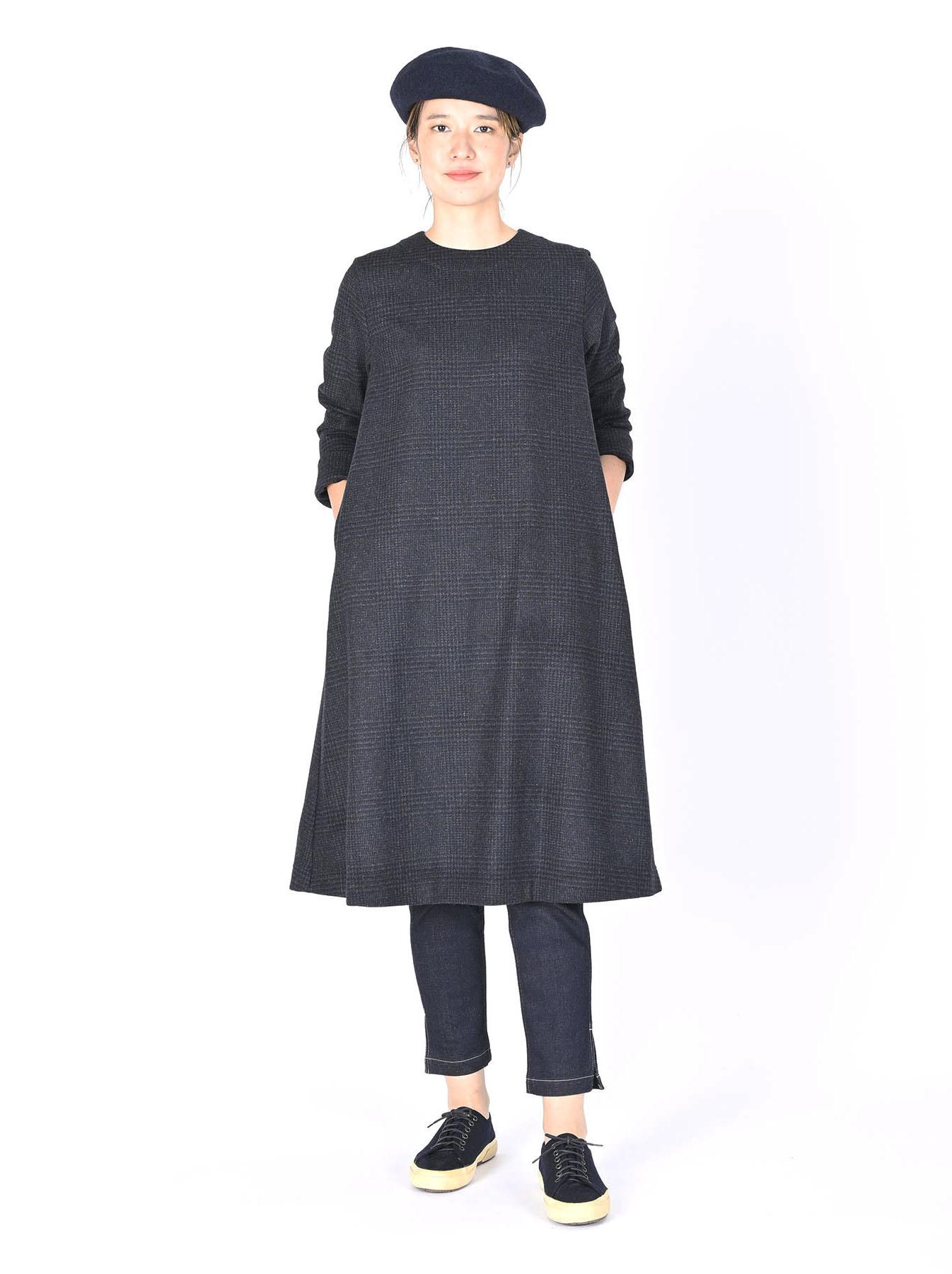 Wool Tweed Stretch Dress-2