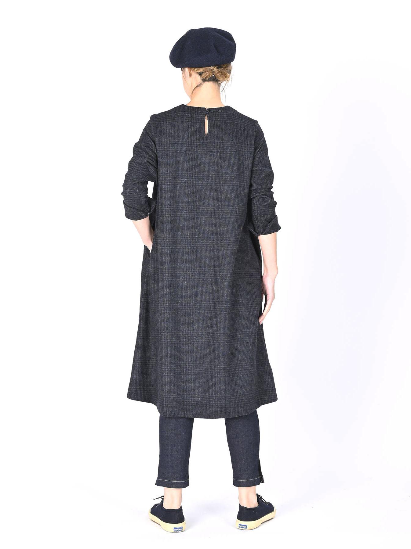 Wool Tweed Stretch Dress-11
