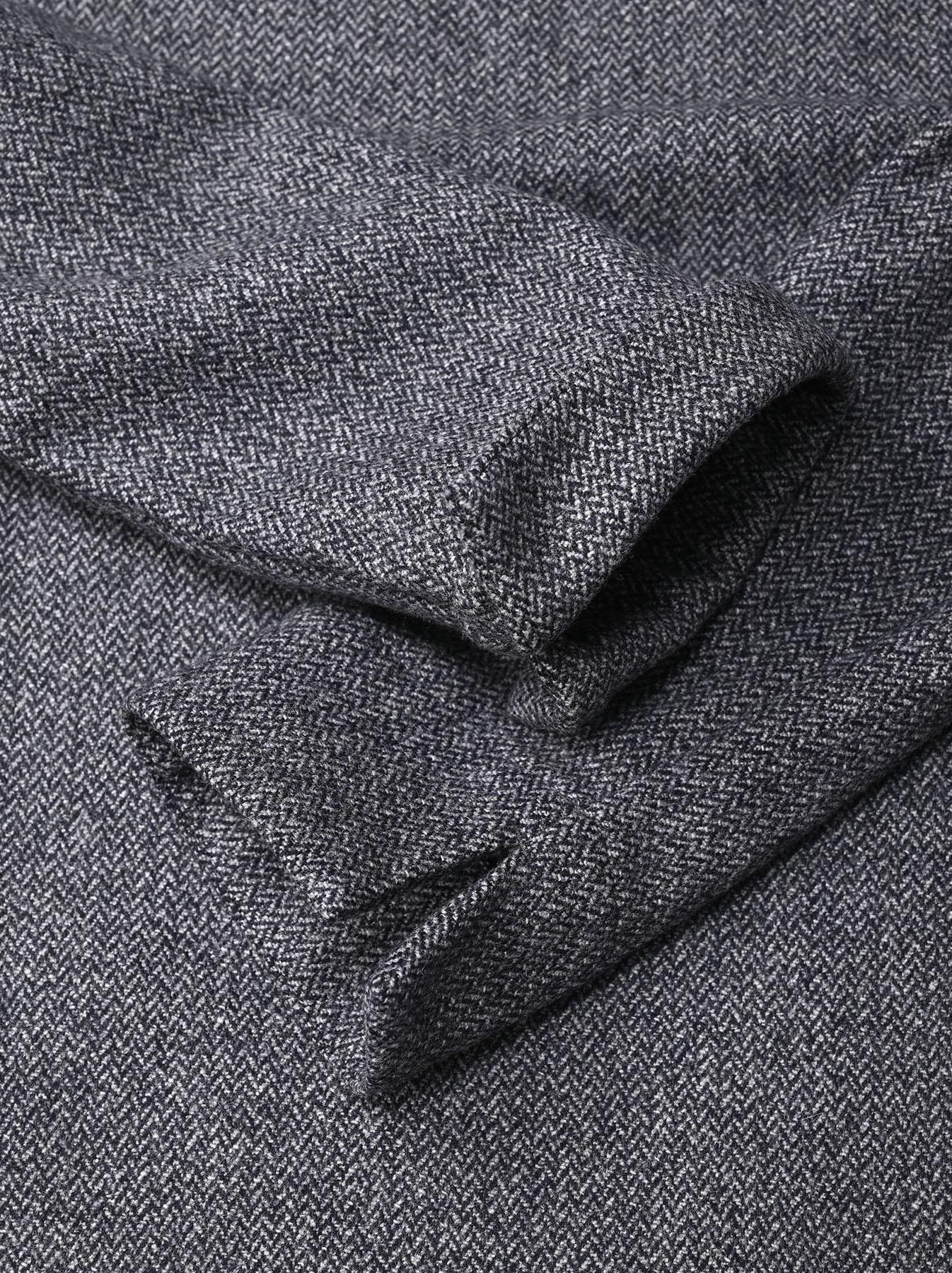 Wool Tweed Stretch Dress-7