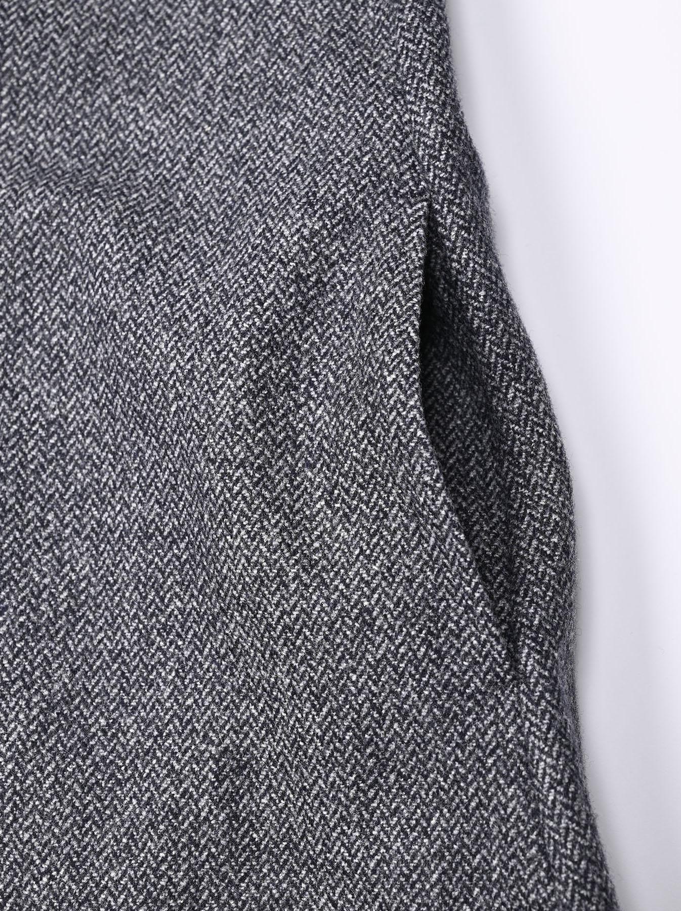 Wool Tweed Stretch Dress-9