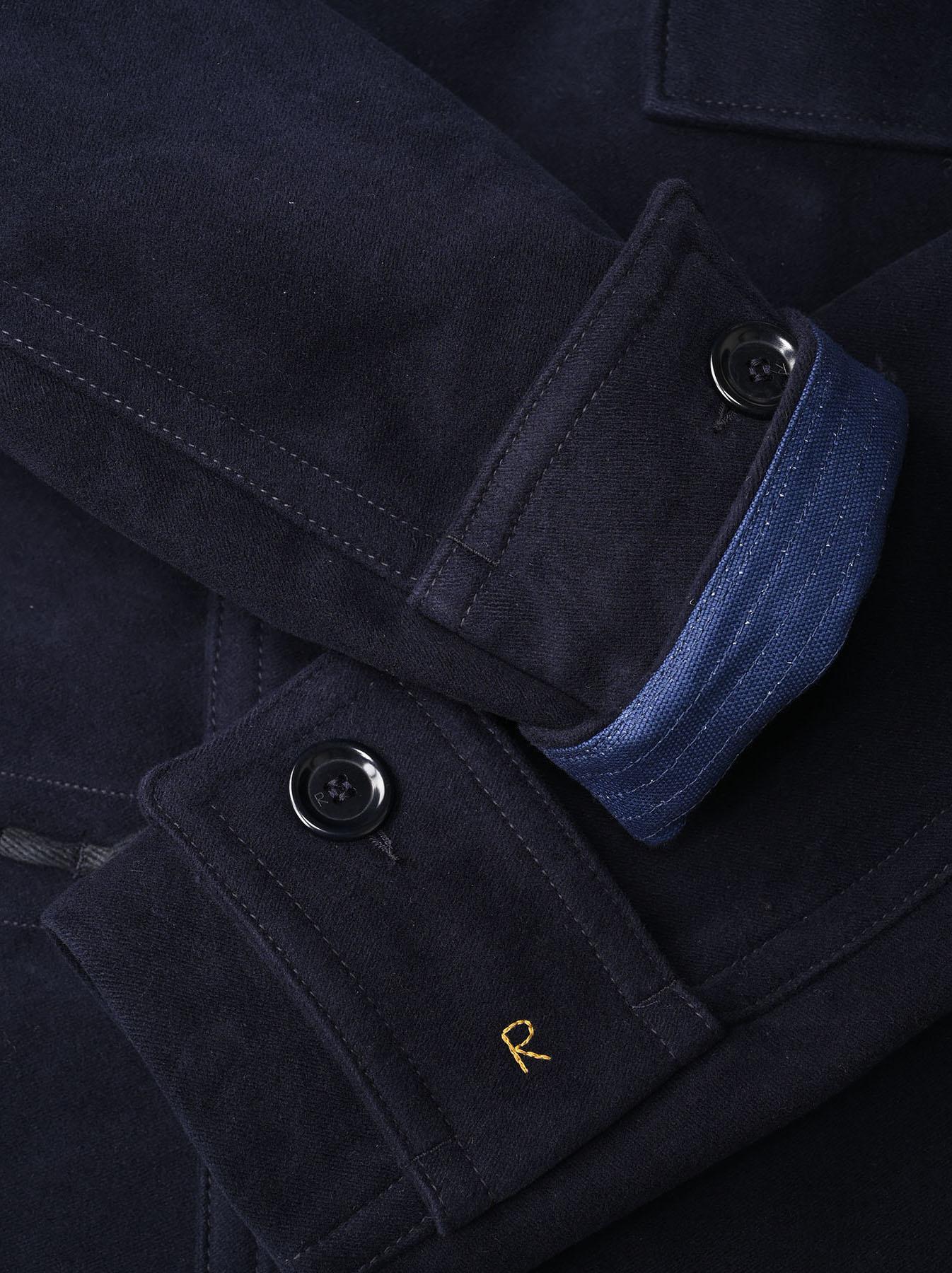 Thick Cotton Flannel Akiya Jacket-7
