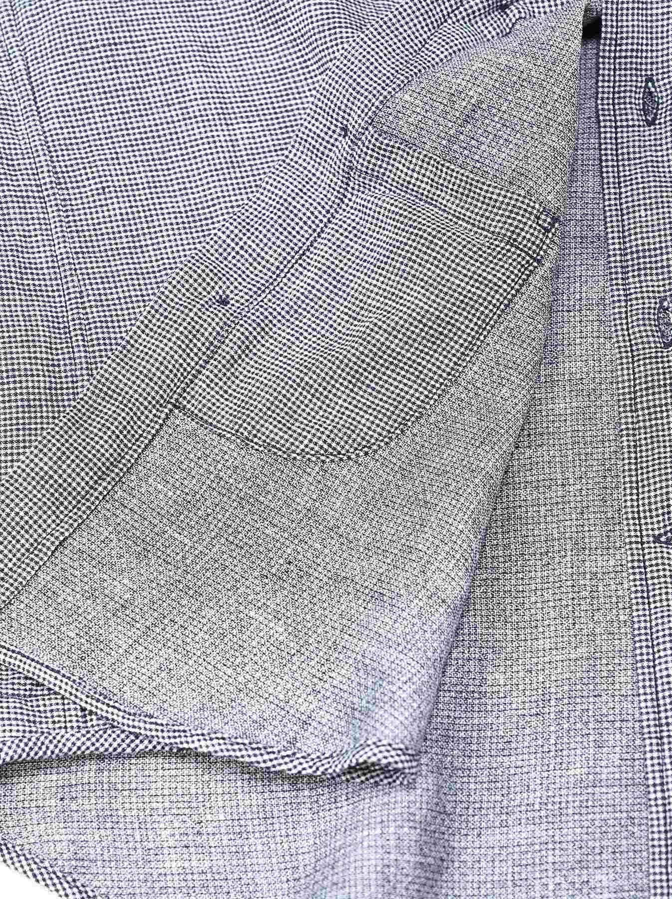 Indigo Double Cloth 908 Regular Shirt-11