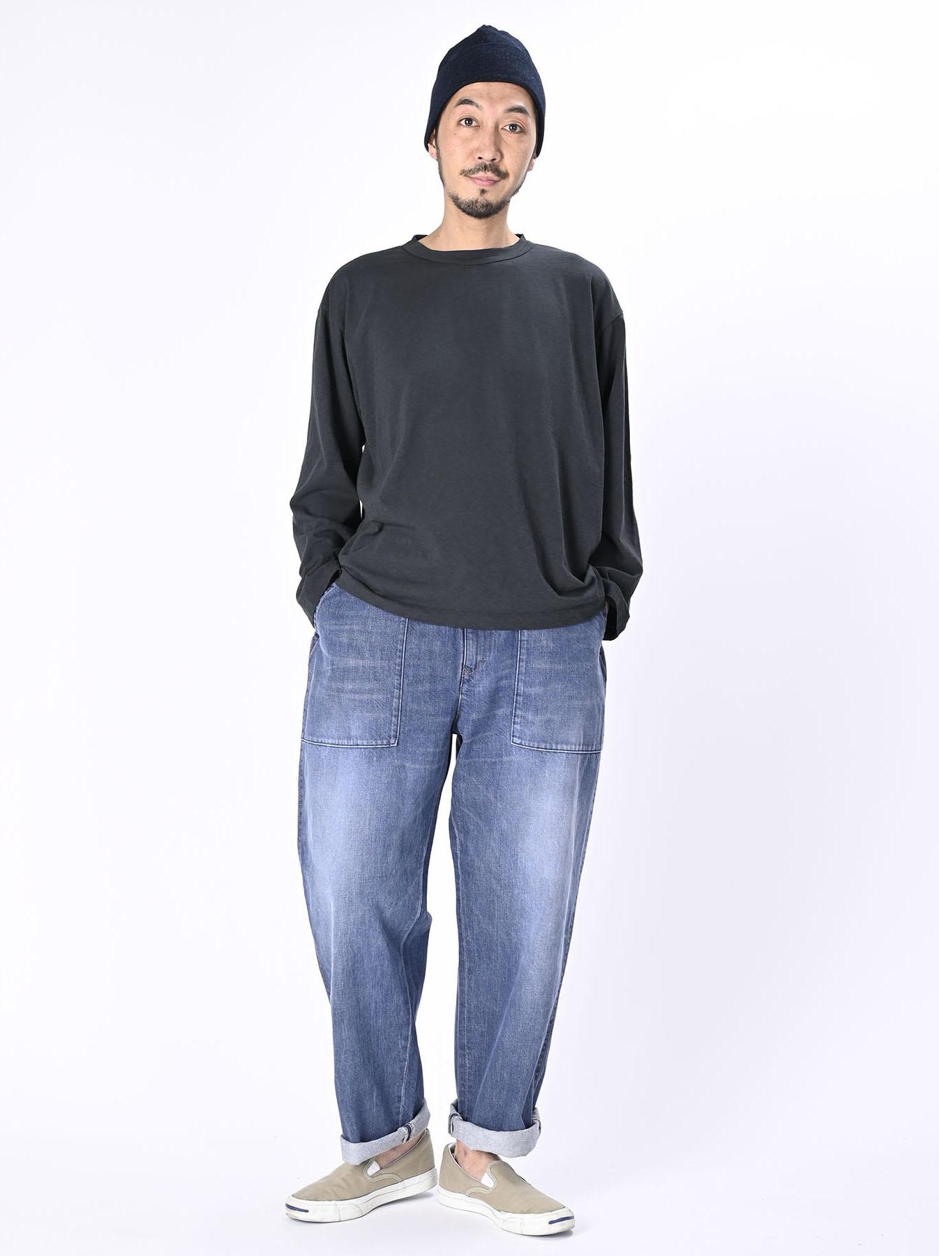 Zimbabwe Cotton Ocean Long-sleeved T-shirt-6