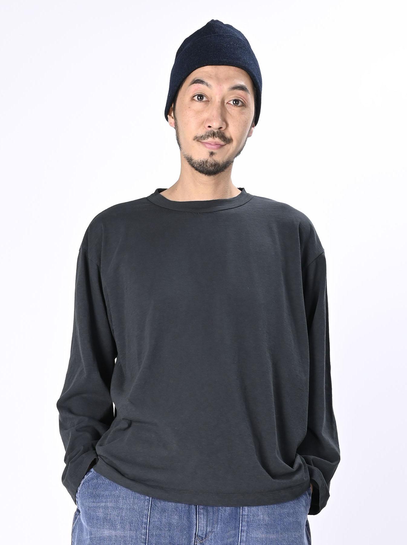 Zimbabwe Cotton Ocean Long-sleeved T-shirt-3