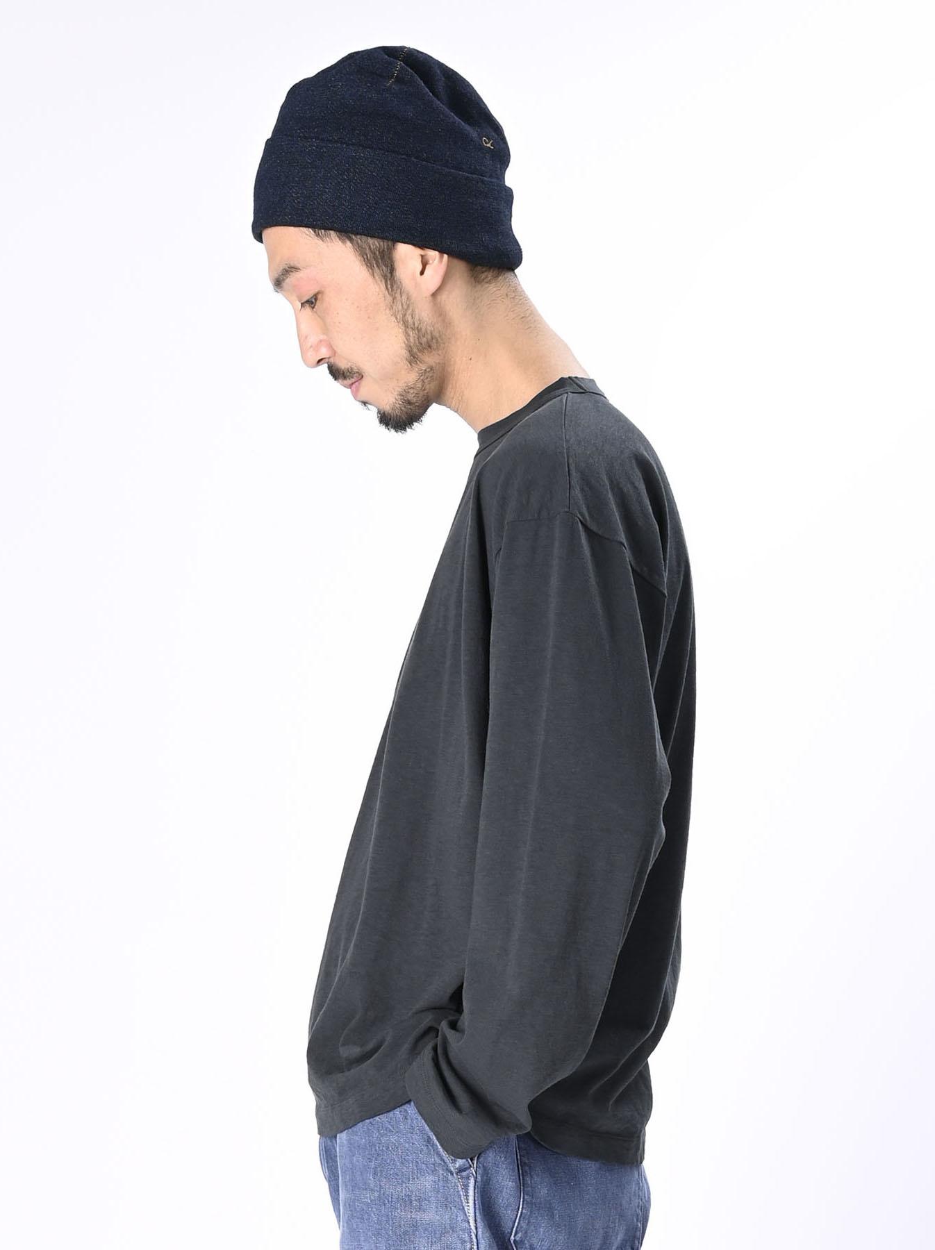 Zimbabwe Cotton Ocean Long-sleeved T-shirt-4