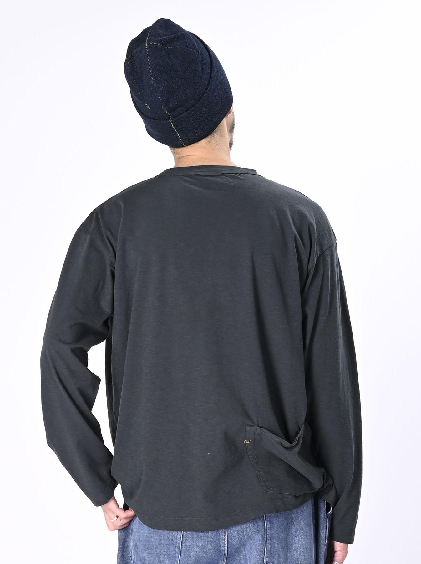 Zimbabwe Cotton Ocean Long-sleeved T-shirt-5