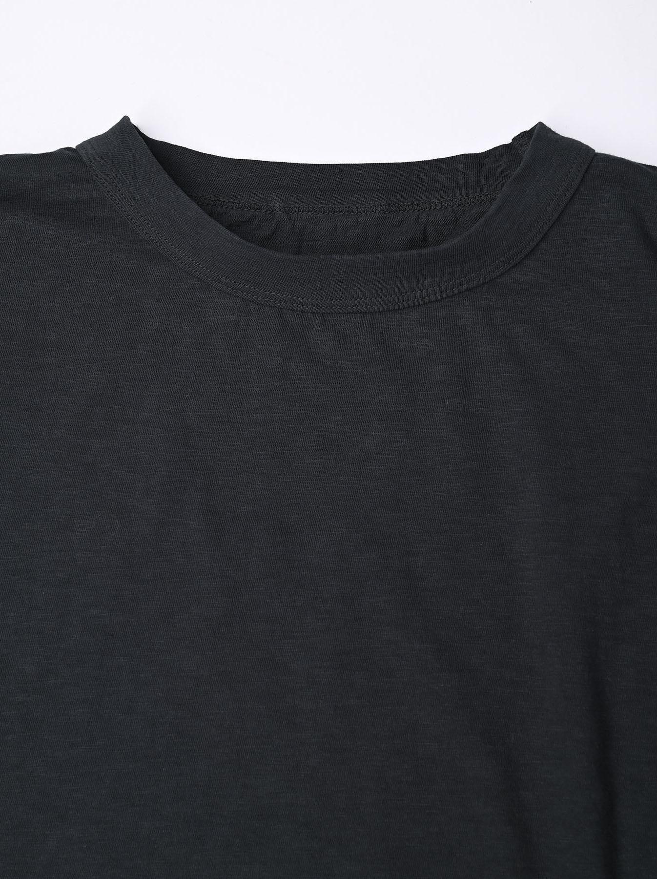 Zimbabwe Cotton Ocean Long-sleeved T-shirt-7