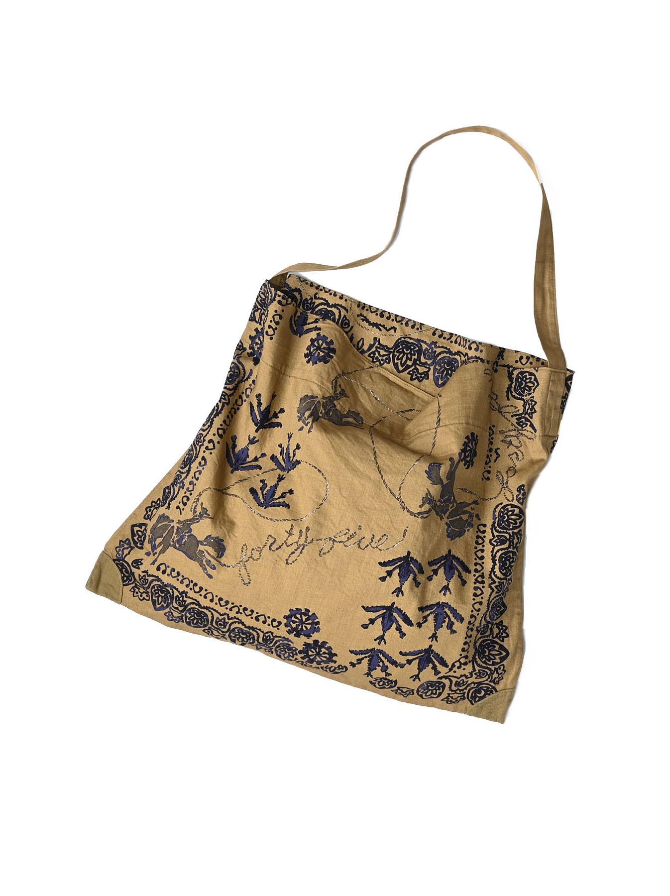 Goma Chino Cowboy Printed Bandana Bag-3