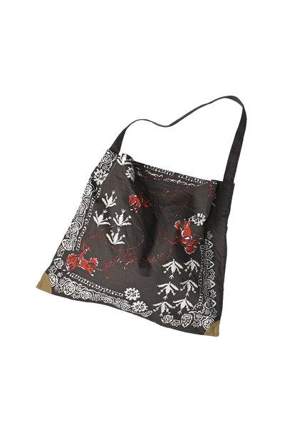 Goma Chino Cowboy Printed Bandana Bag
