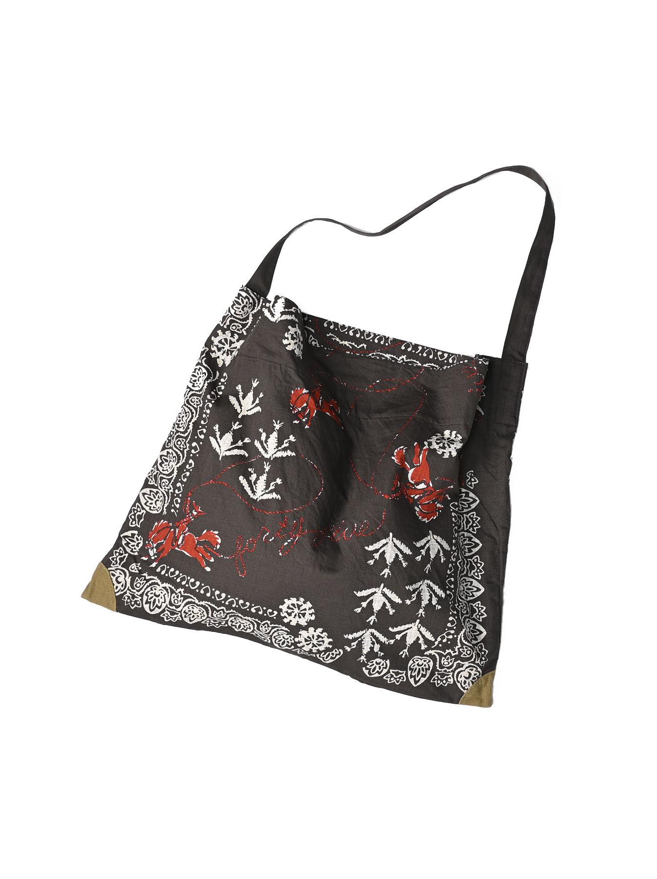 Goma Chino Cowboy Printed Bandana Bag-1