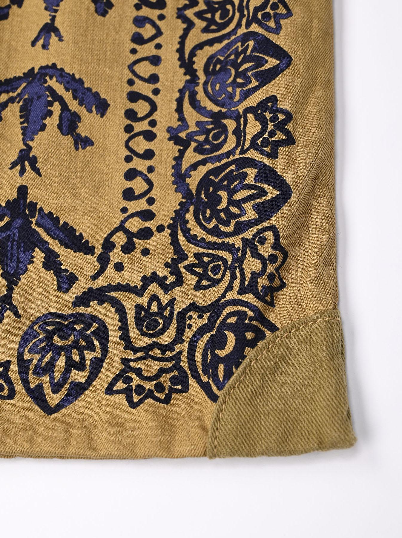 Goma Chino Cowboy Printed Bandana Bag-7