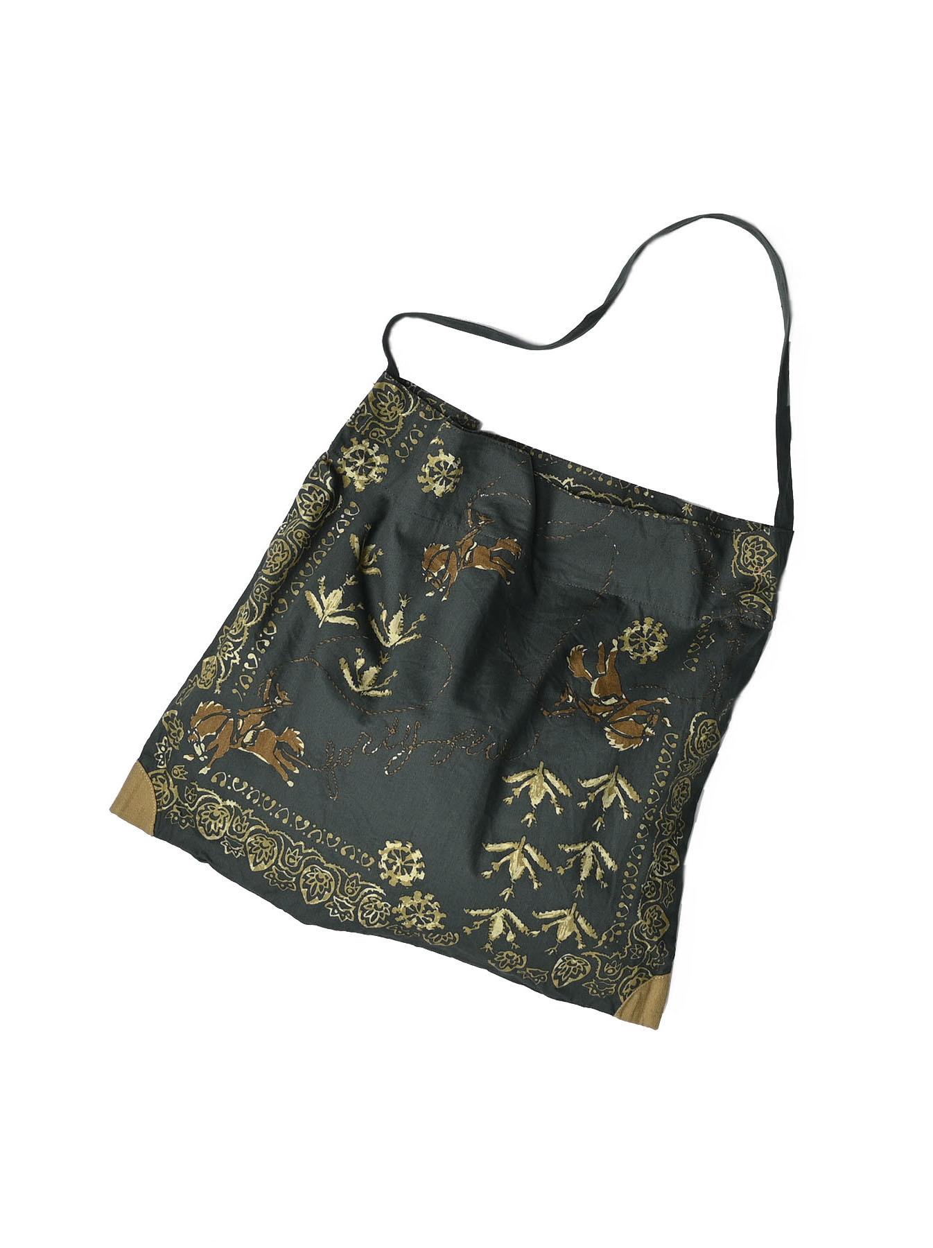 Goma Chino Cowboy Printed Bandana Bag-2