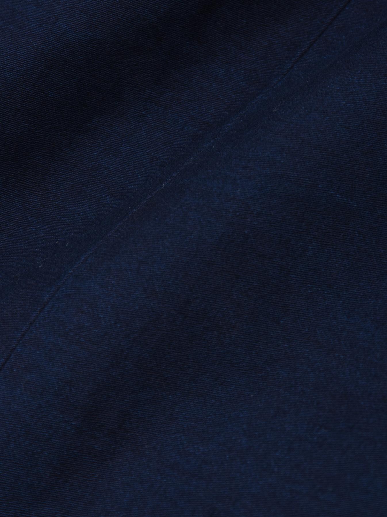 Indigo Mugi Yoko-shusi Soroe Double Breasted Jacket-12