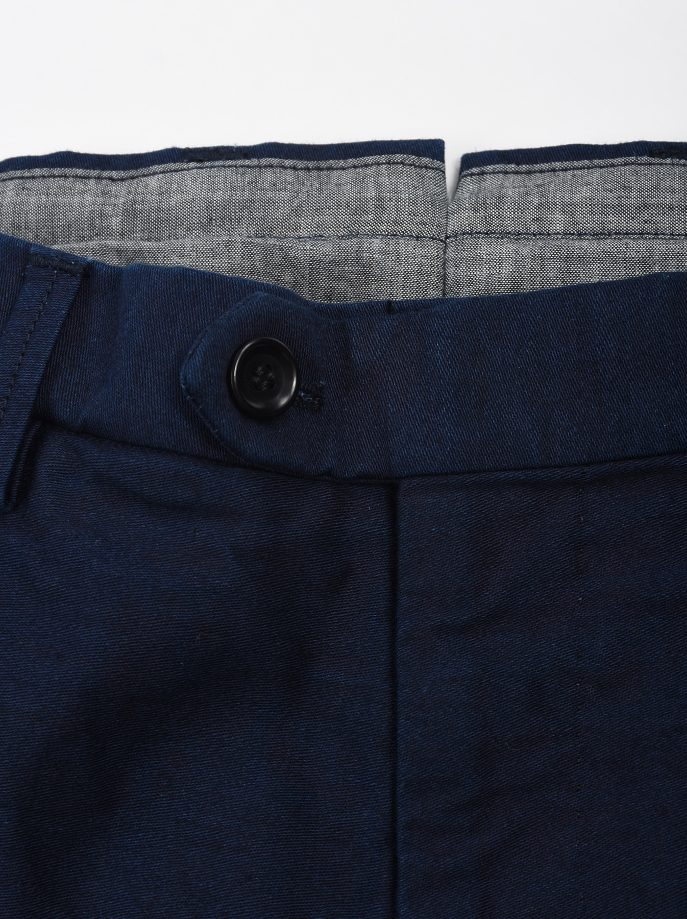WH Indigo Mugi Yoko-shusi Soroe Pants-6