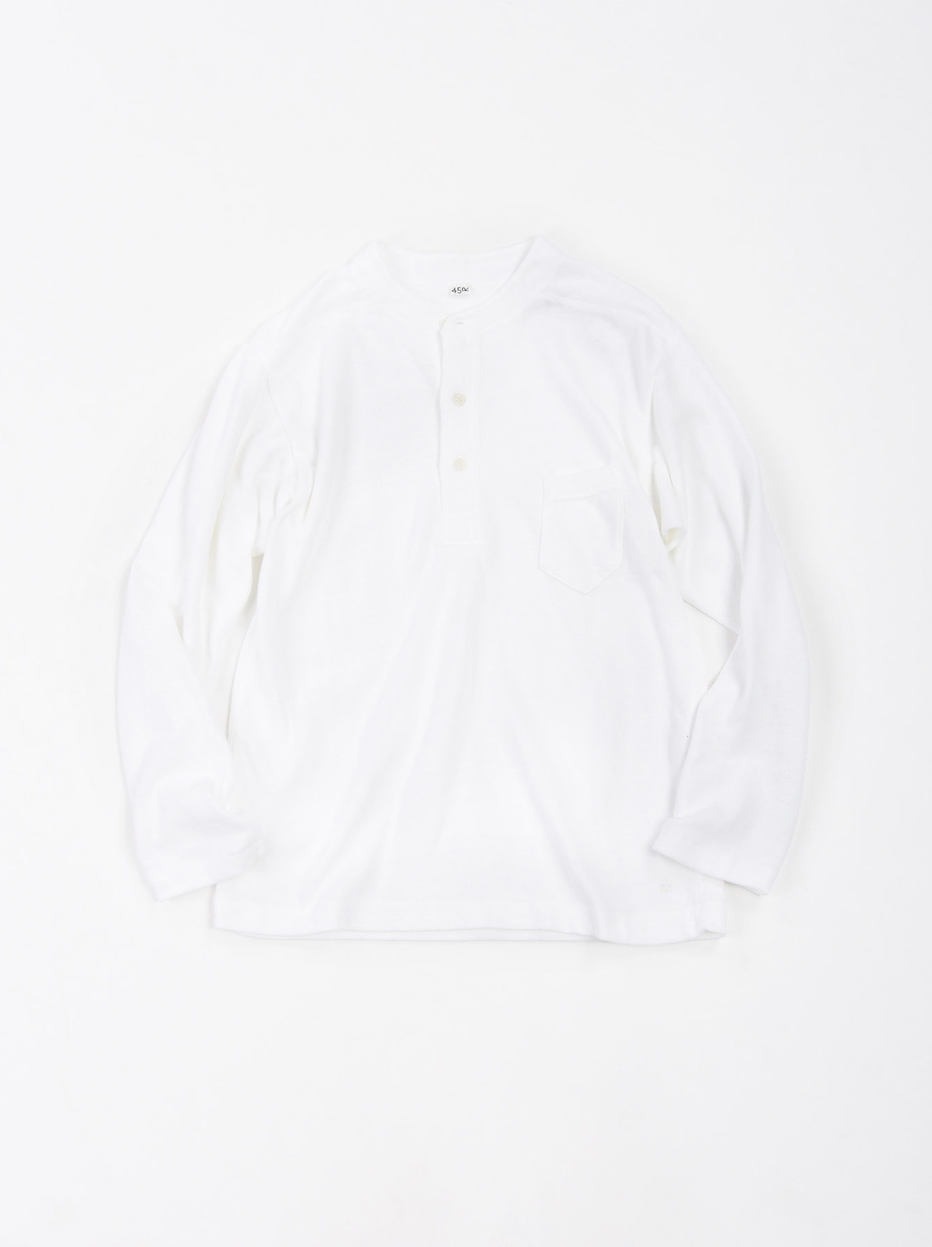 Low-gauge Tenjiku Long-sleeved Henley-7