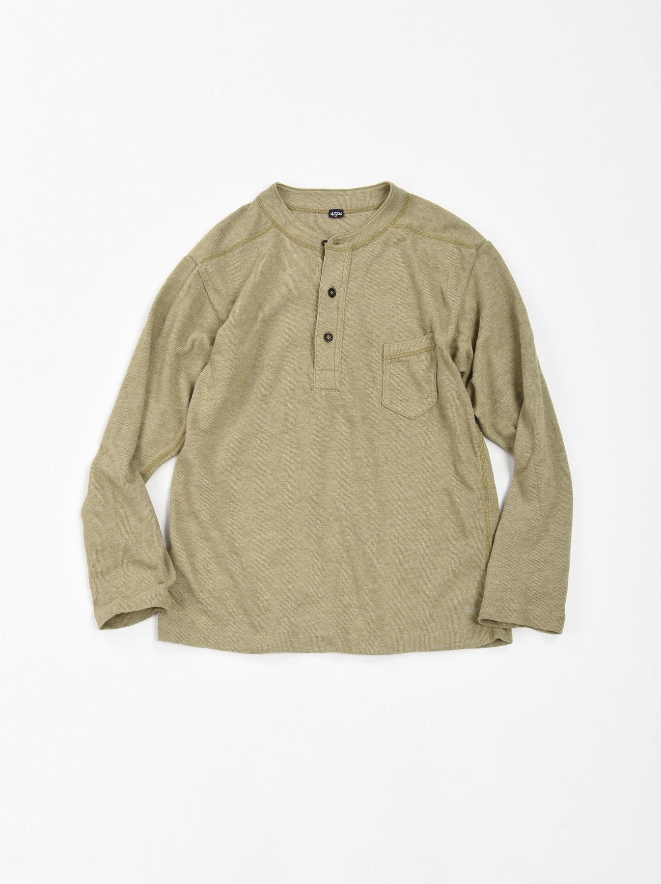 Low-gauge Tenjiku Long-sleeved Henley-6