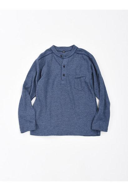 Low-gauge Tenjiku Long-sleeved Henley