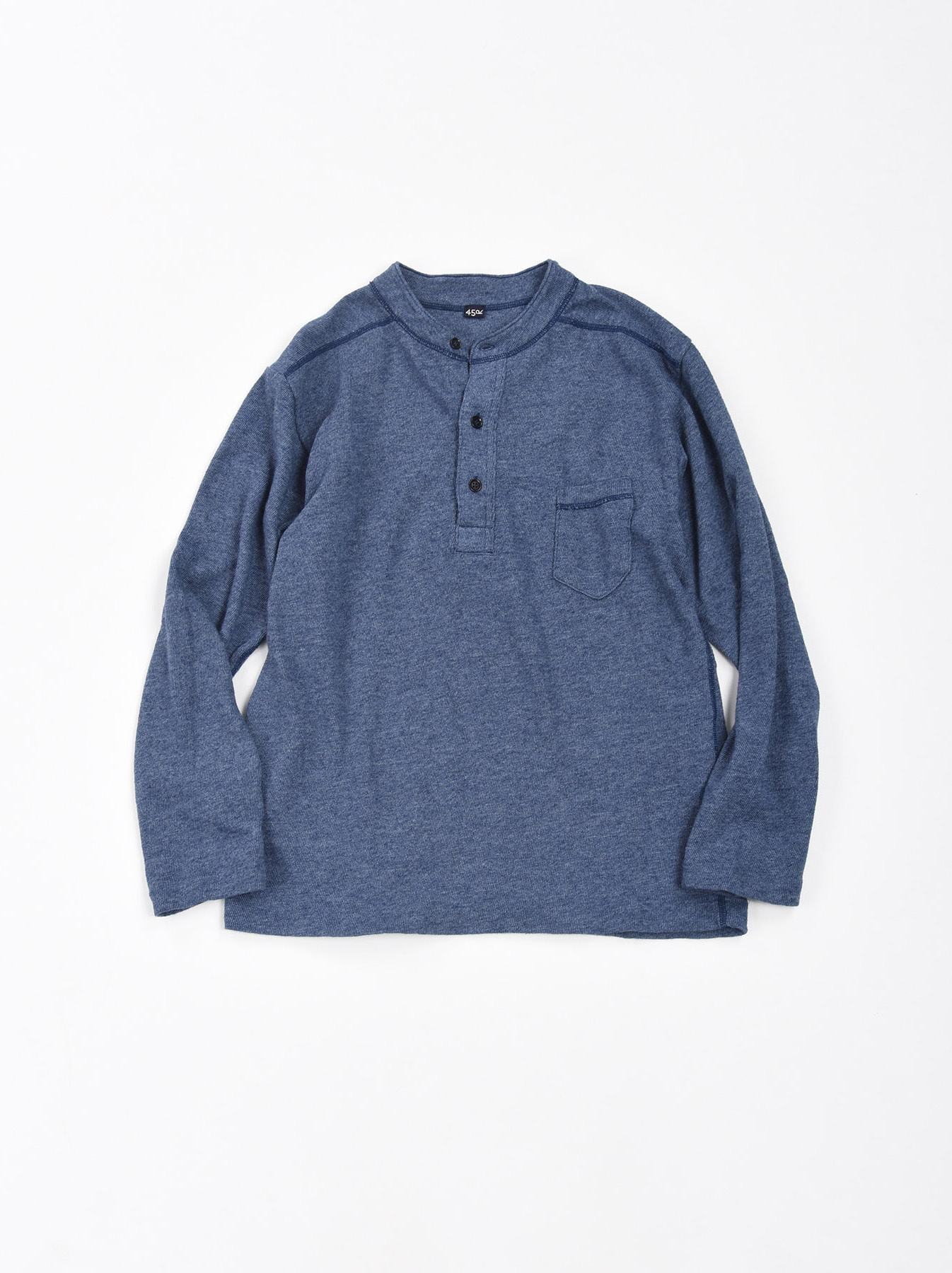 Low-gauge Tenjiku Long-sleeved Henley-1