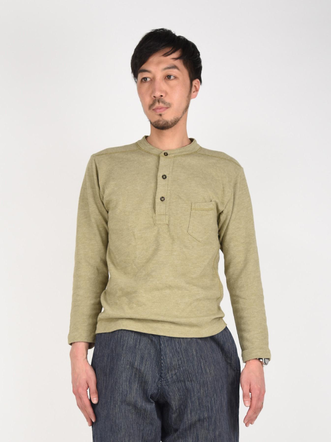 Low-gauge Tenjiku Long-sleeved Henley-3
