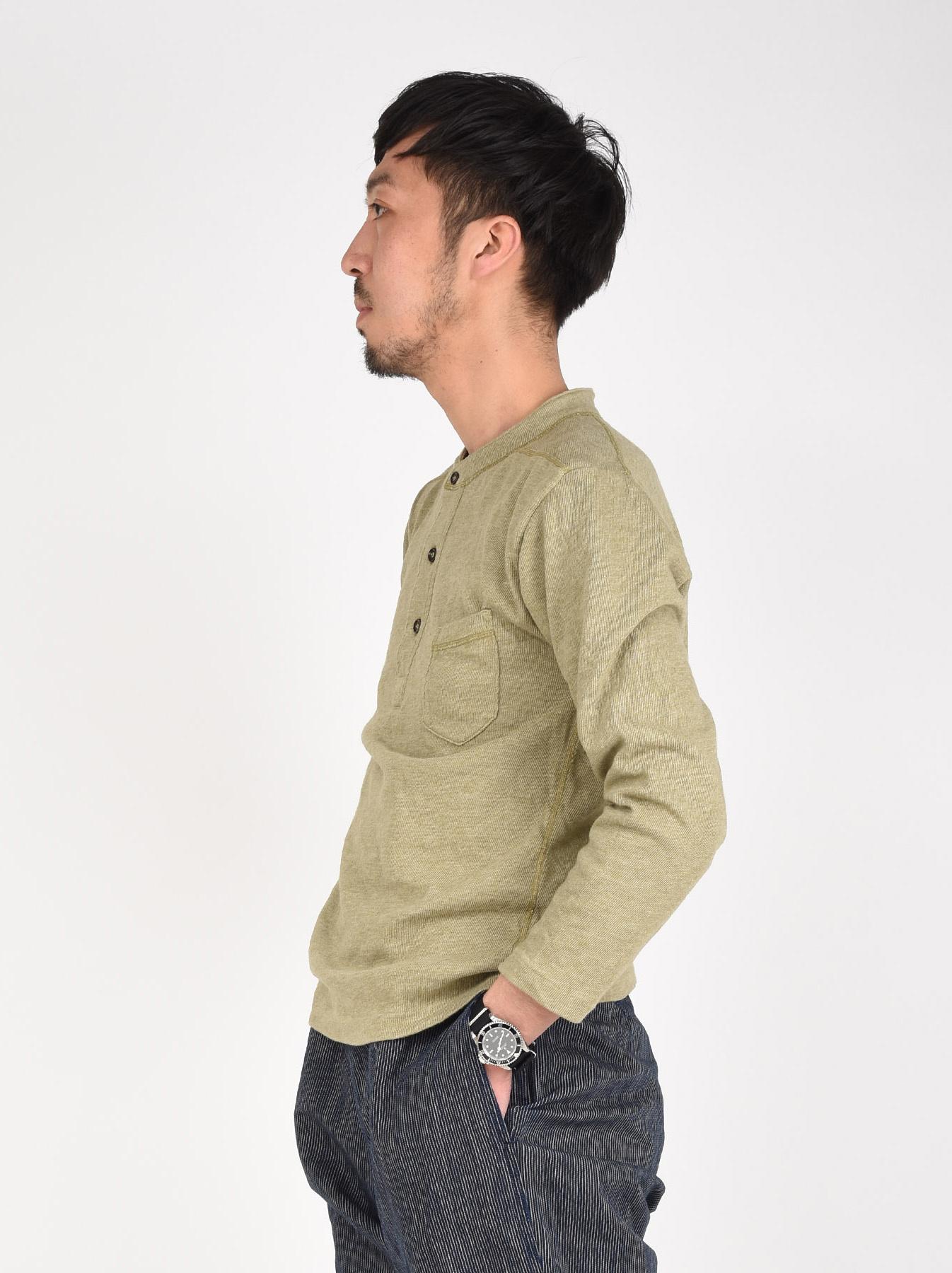Low-gauge Tenjiku Long-sleeved Henley-4