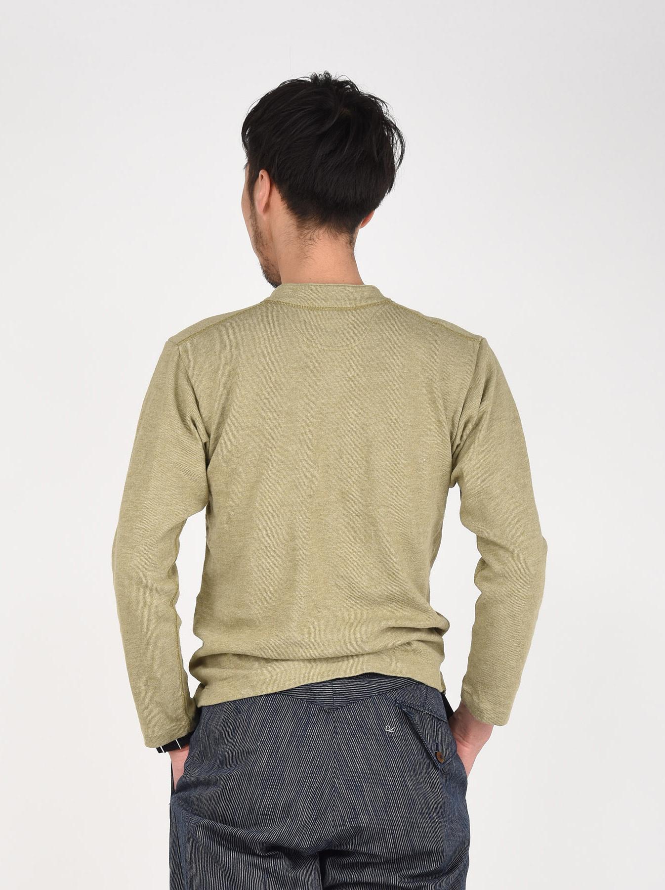 Low-gauge Tenjiku Long-sleeved Henley-5