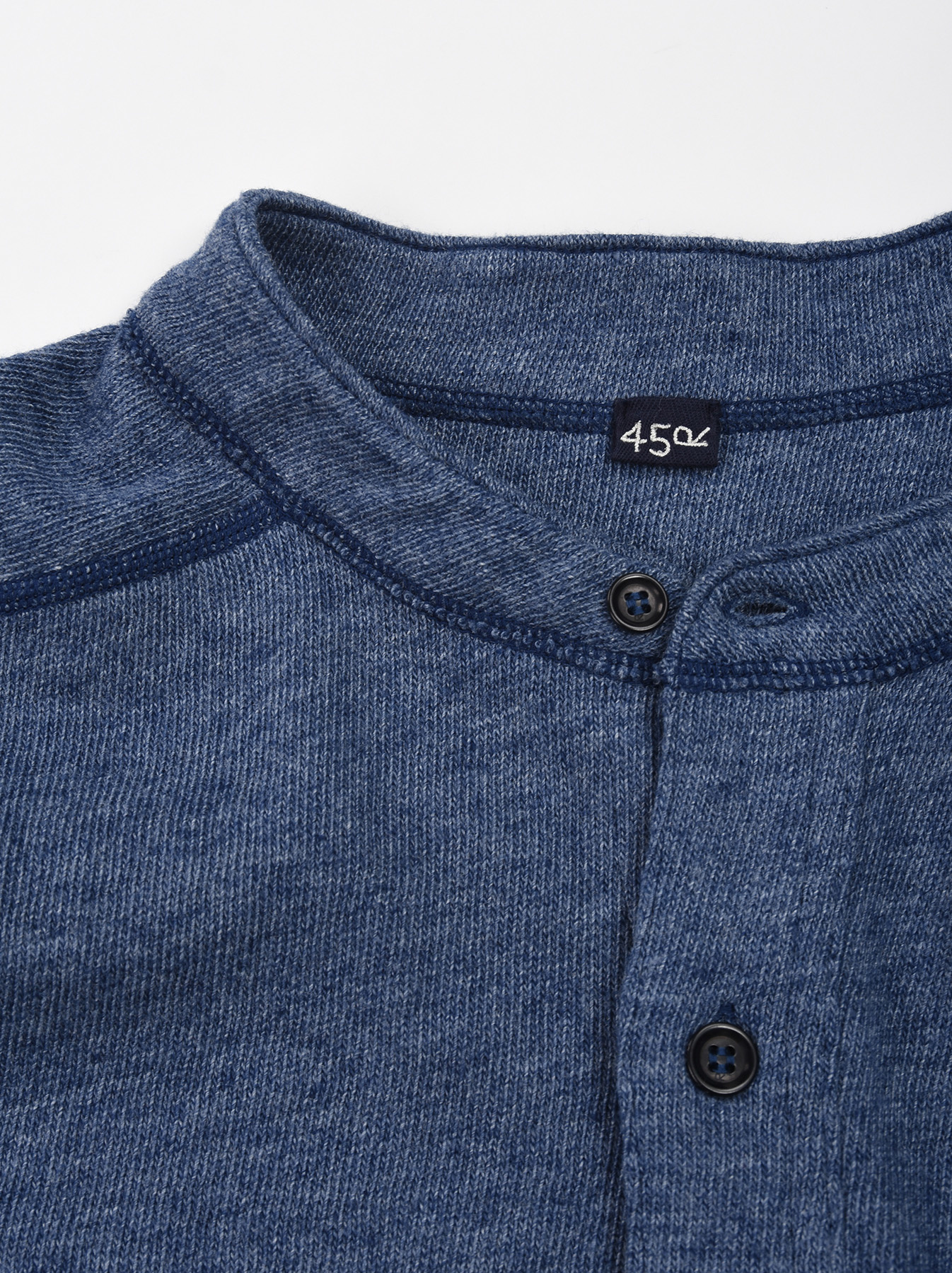 Low-gauge Tenjiku Long-sleeved Henley-8