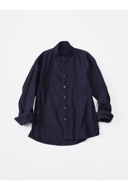 Oxford Stand Collar Shirt