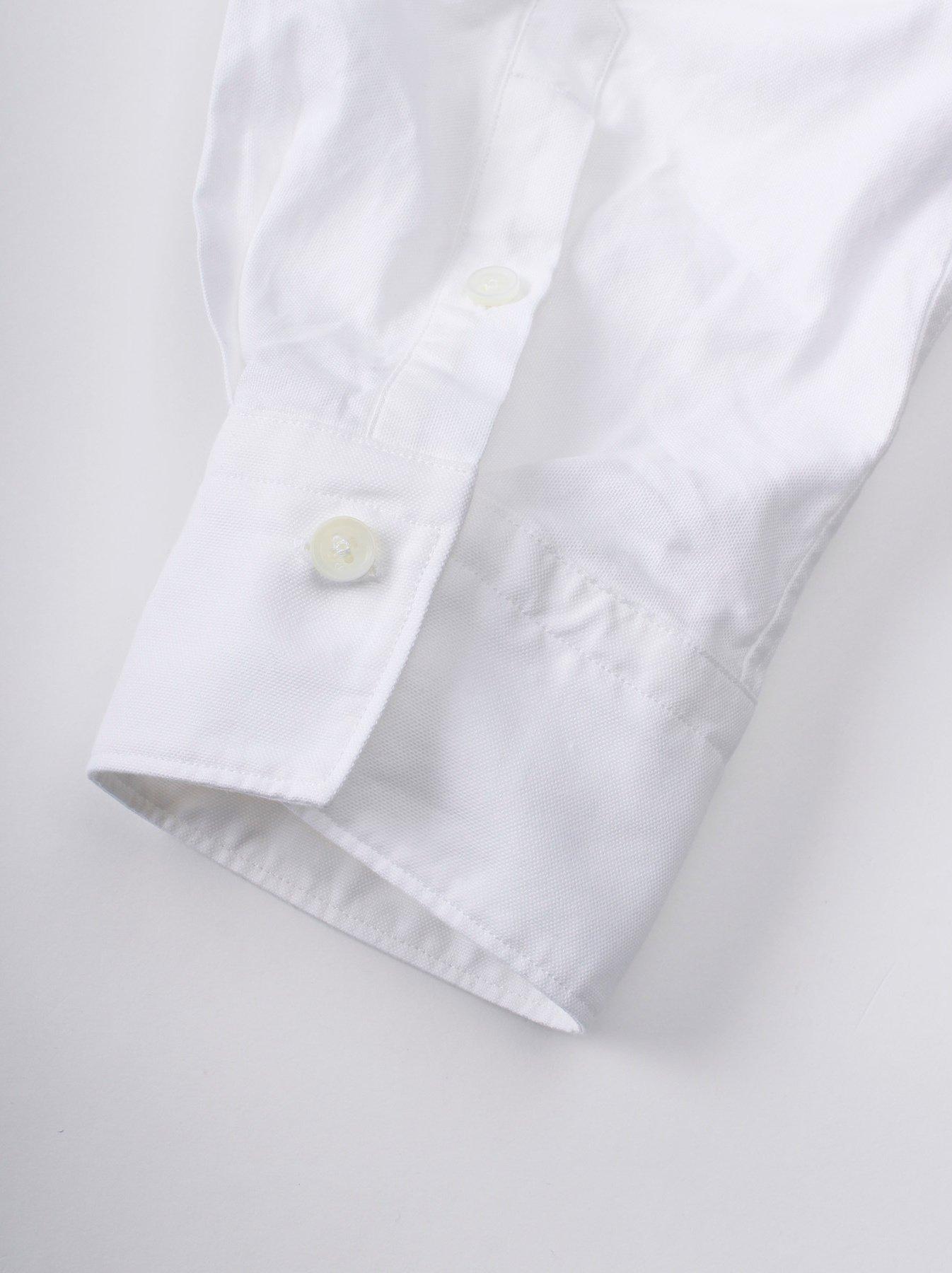 Oxford Stand Collar Shirt-10