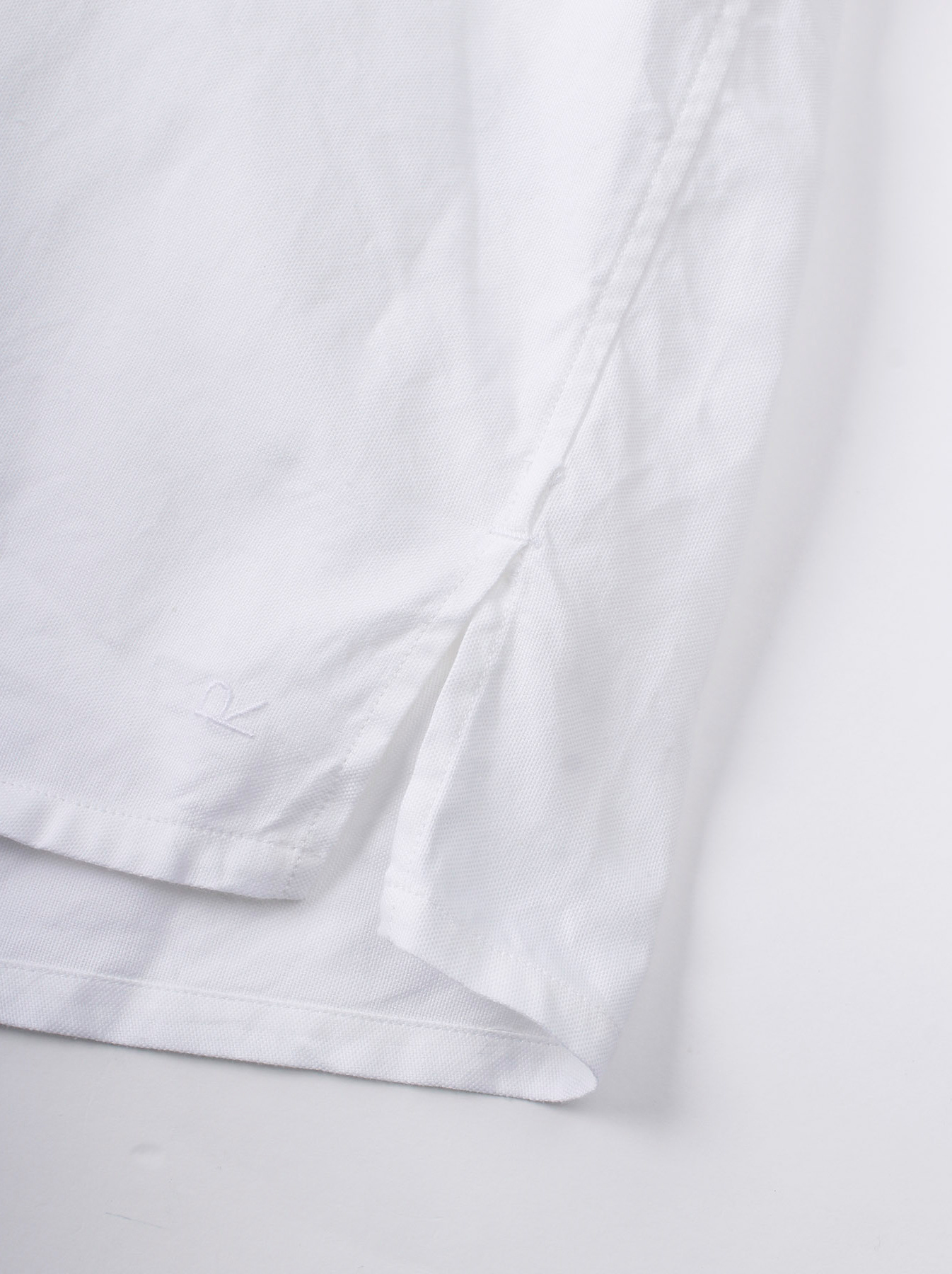 Oxford Stand Collar Shirt-11