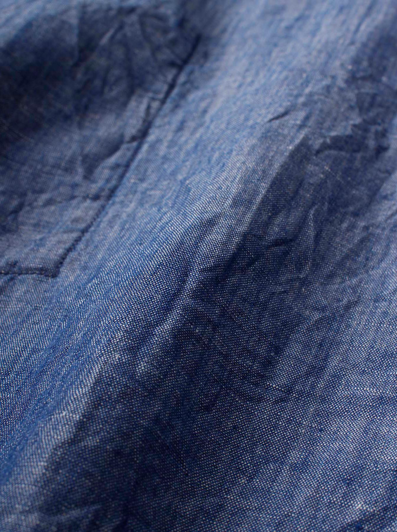 WH Cotton Linen Umahiko Pullover Shirt-6