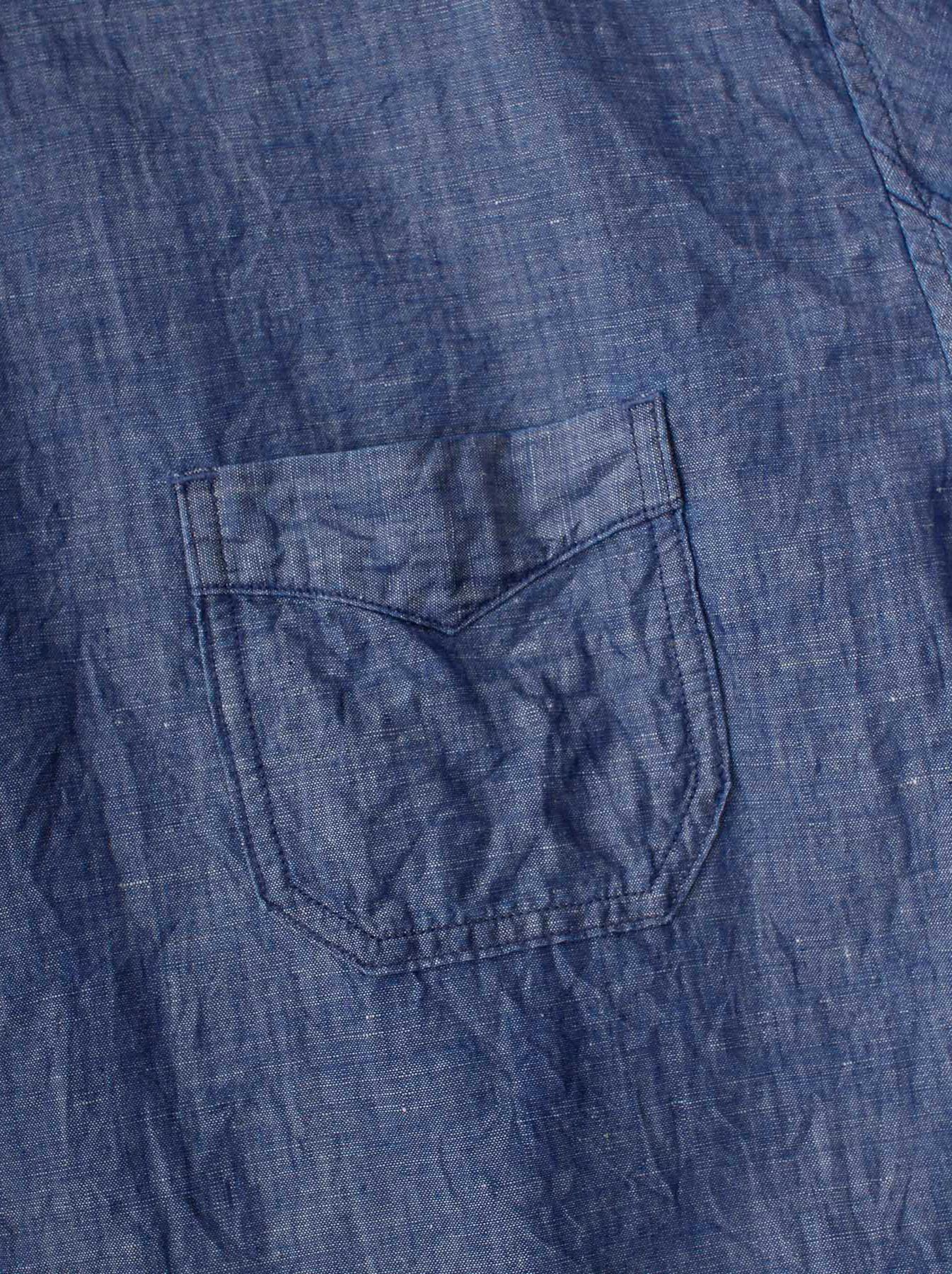 WH Cotton Linen Umahiko Pullover Shirt-8