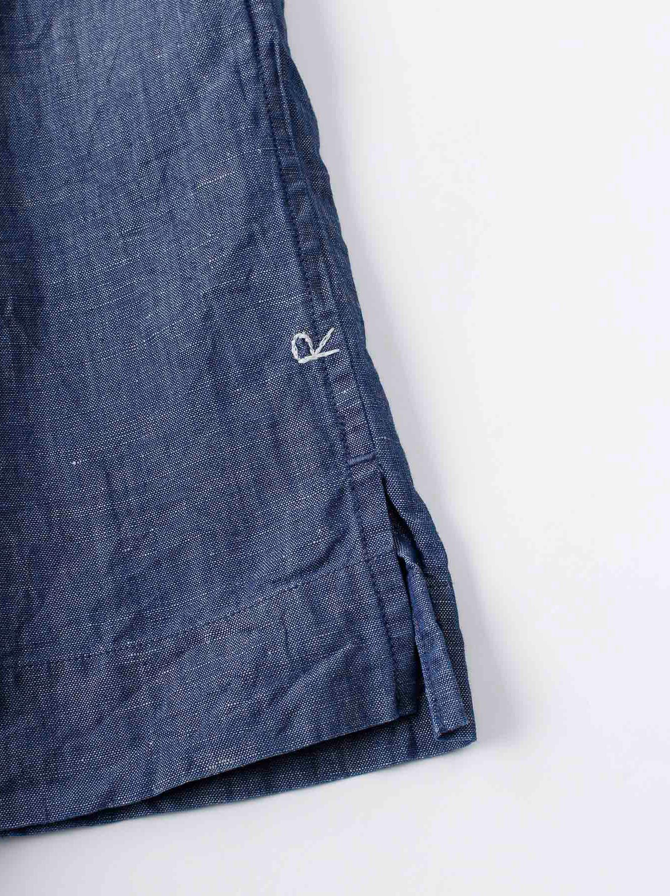 WH Cotton Linen Umahiko Pullover Shirt-10