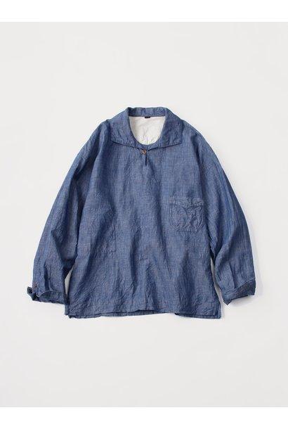 WH Cotton Linen Umahiko Pullover Shirt