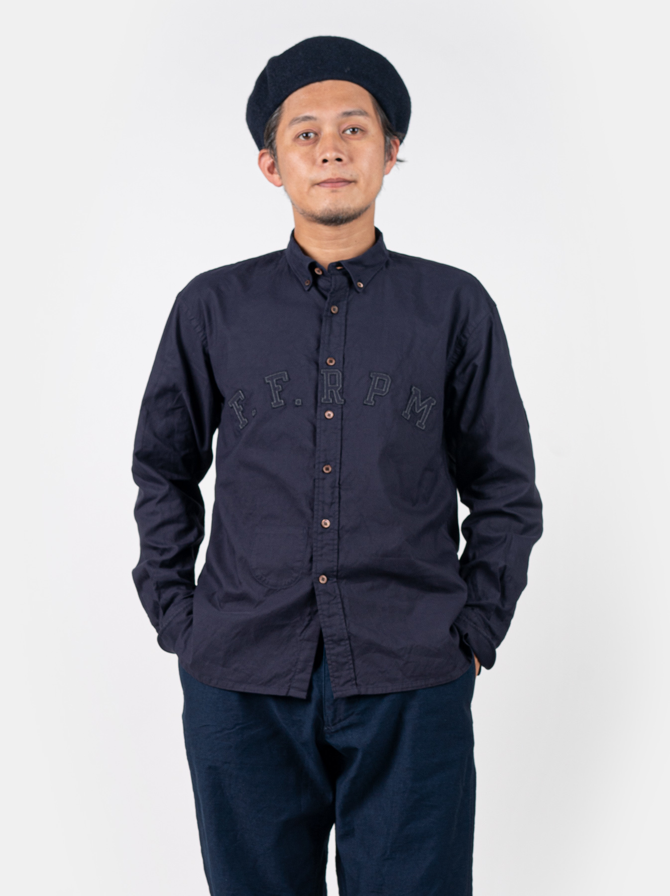Oxford College Ford Button Down Shirt-5