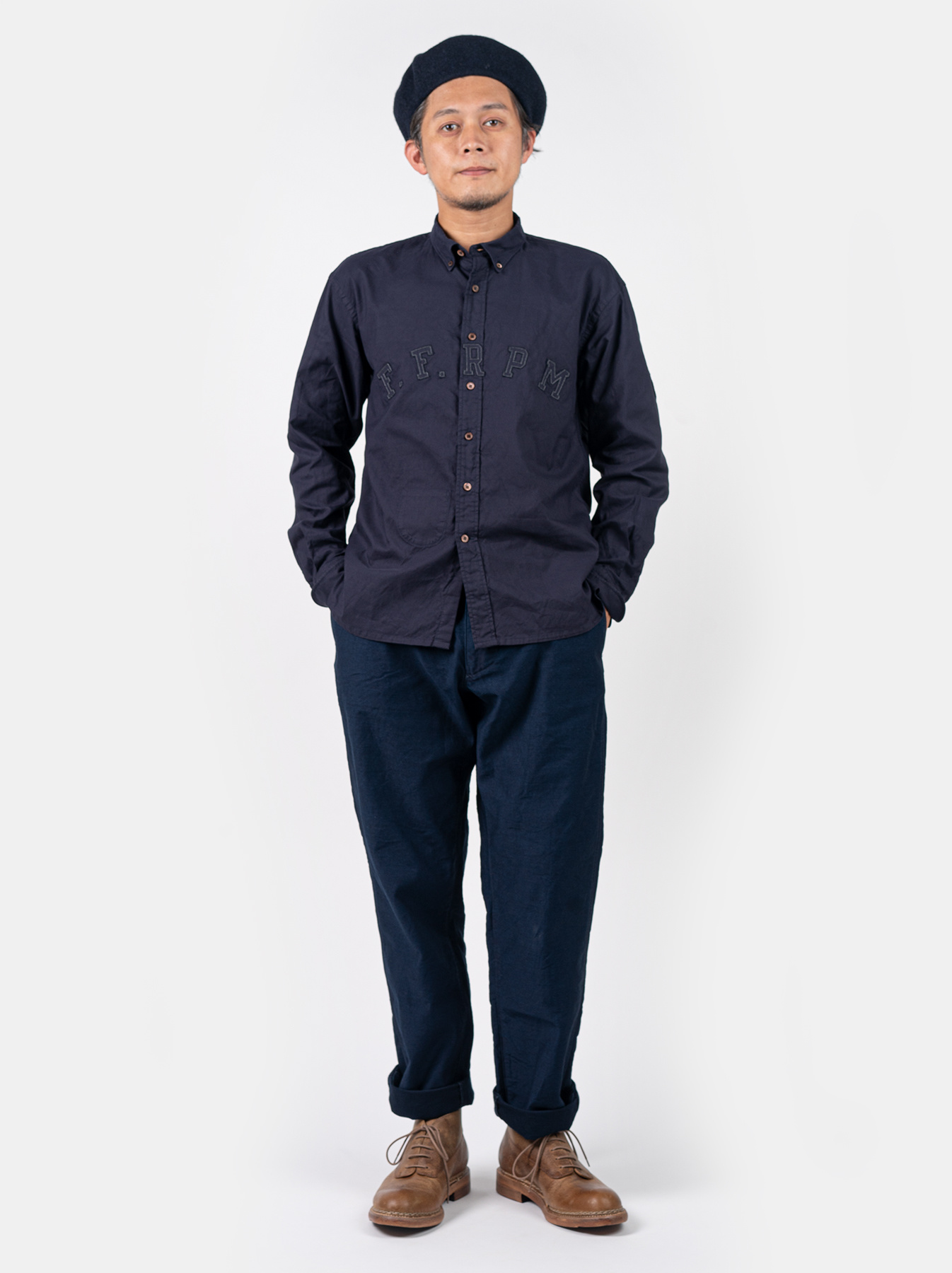 Oxford College Ford Button Down Shirt-2