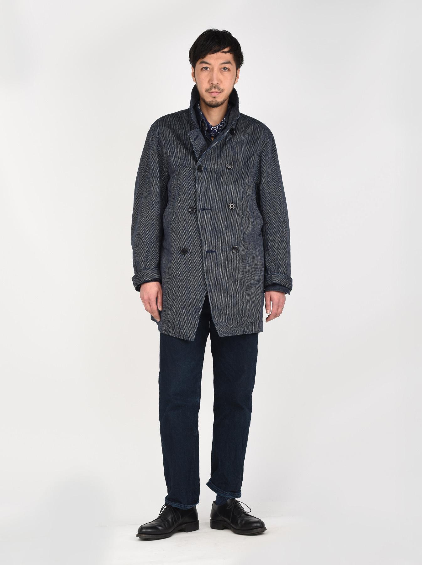WH Indigo Mugi Yoko-shusi P-coat-2