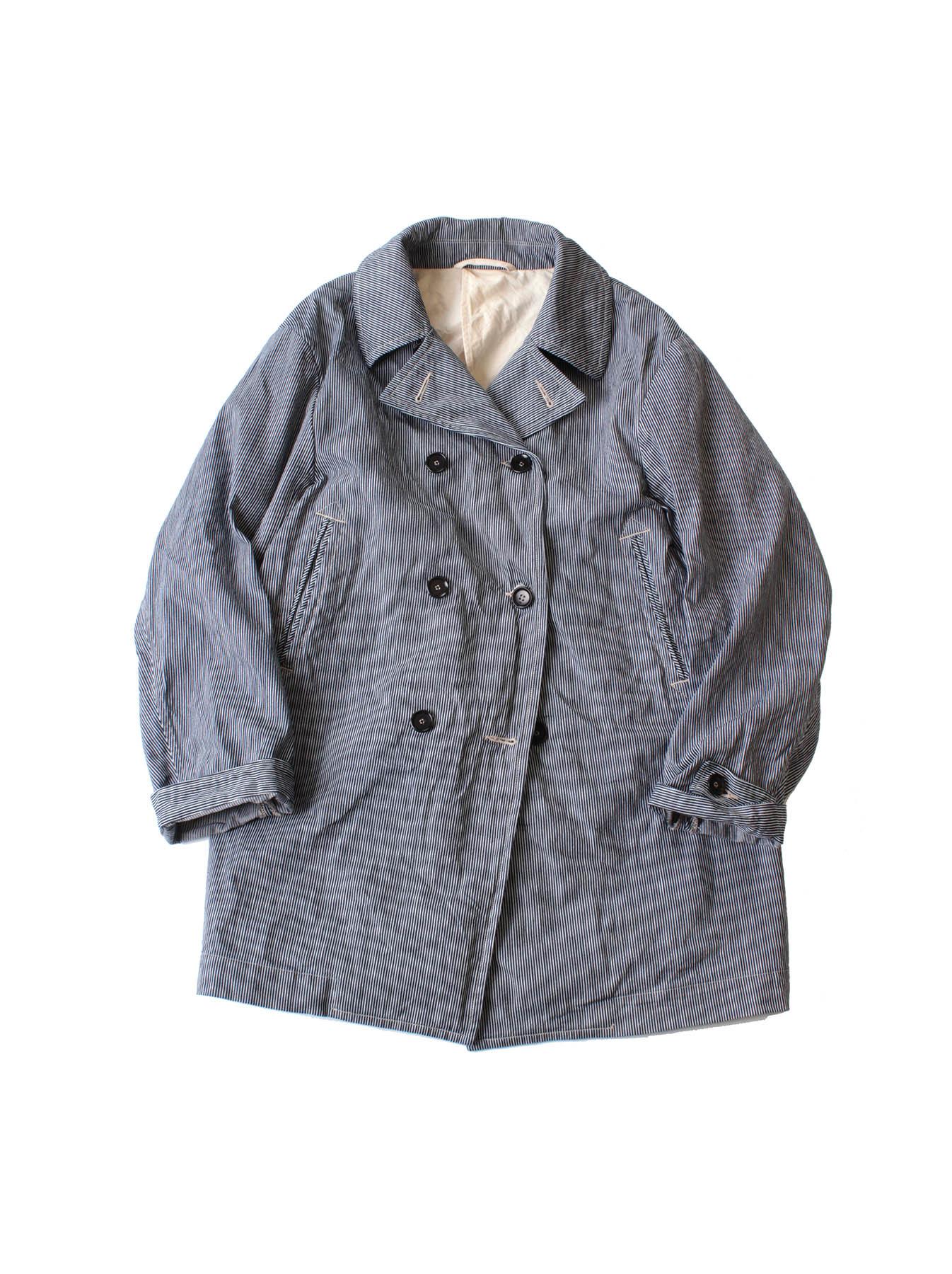 WH Indigo Mugi Yoko-shusi P-coat-3