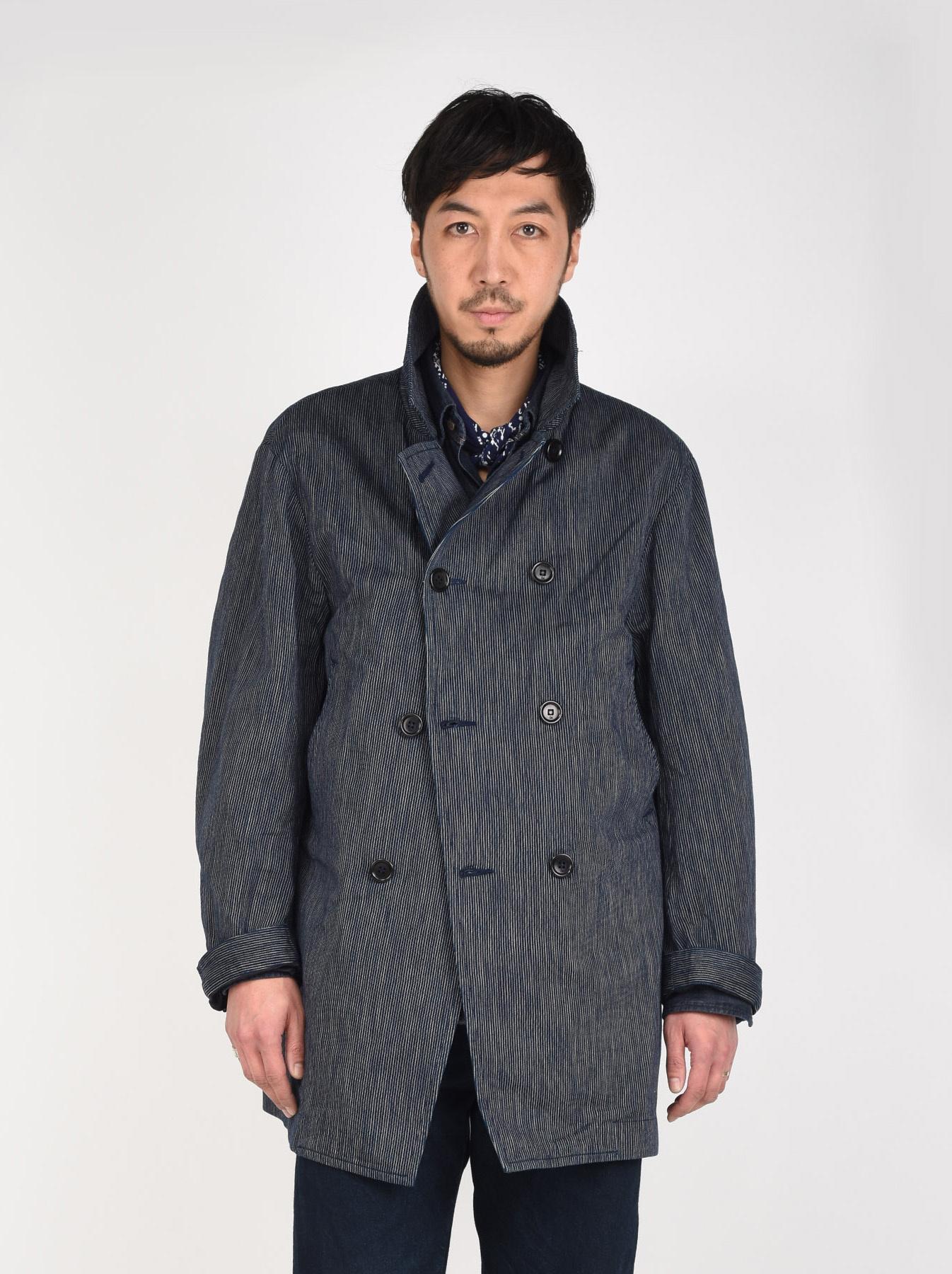 WH Indigo Mugi Yoko-shusi P-coat-4