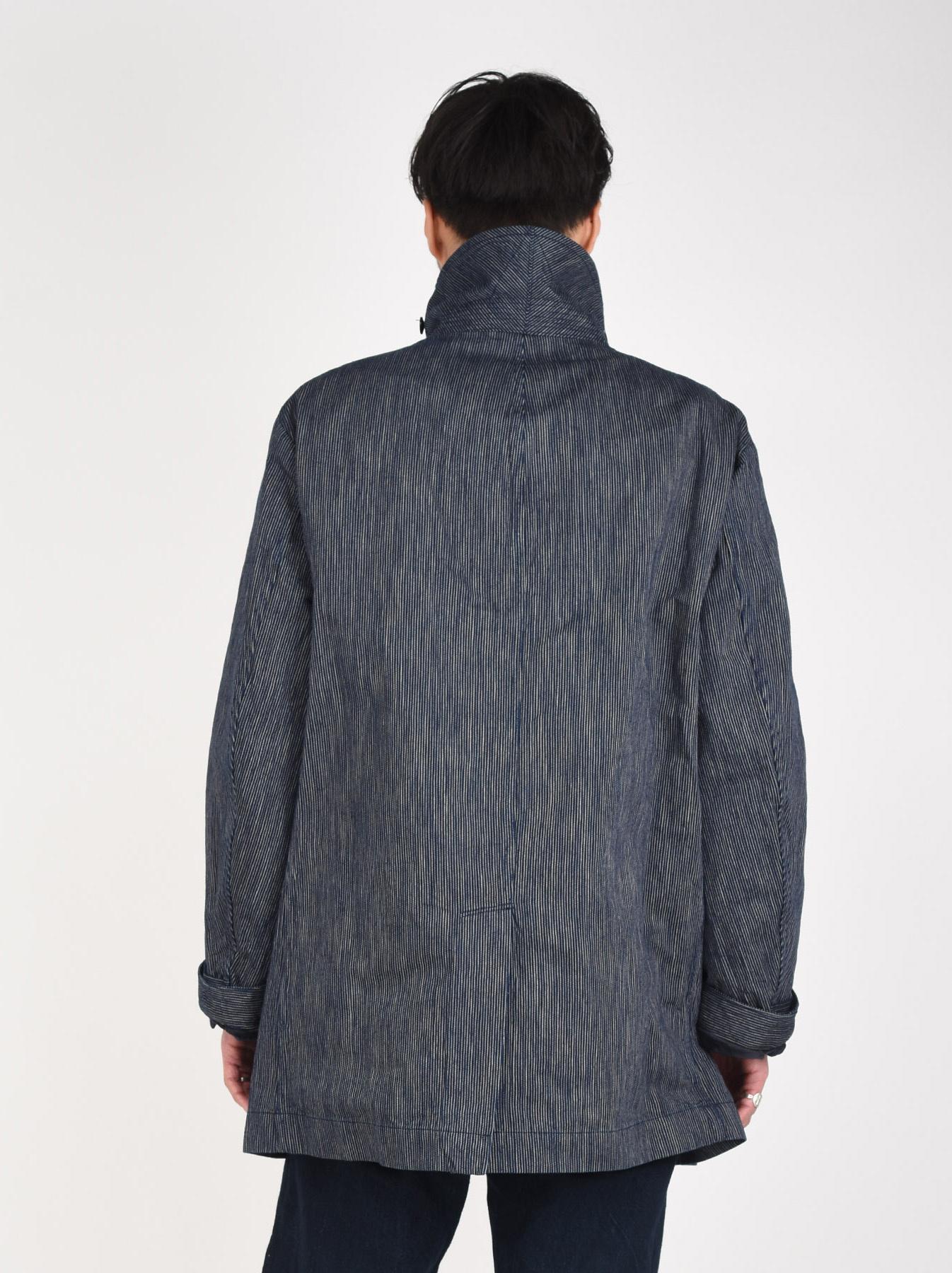 WH Indigo Mugi Yoko-shusi P-coat-6