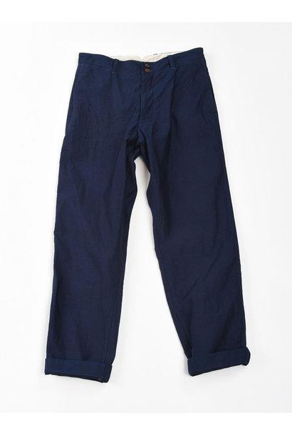WH Indigo Mugi Yoko-shusi Work Pants