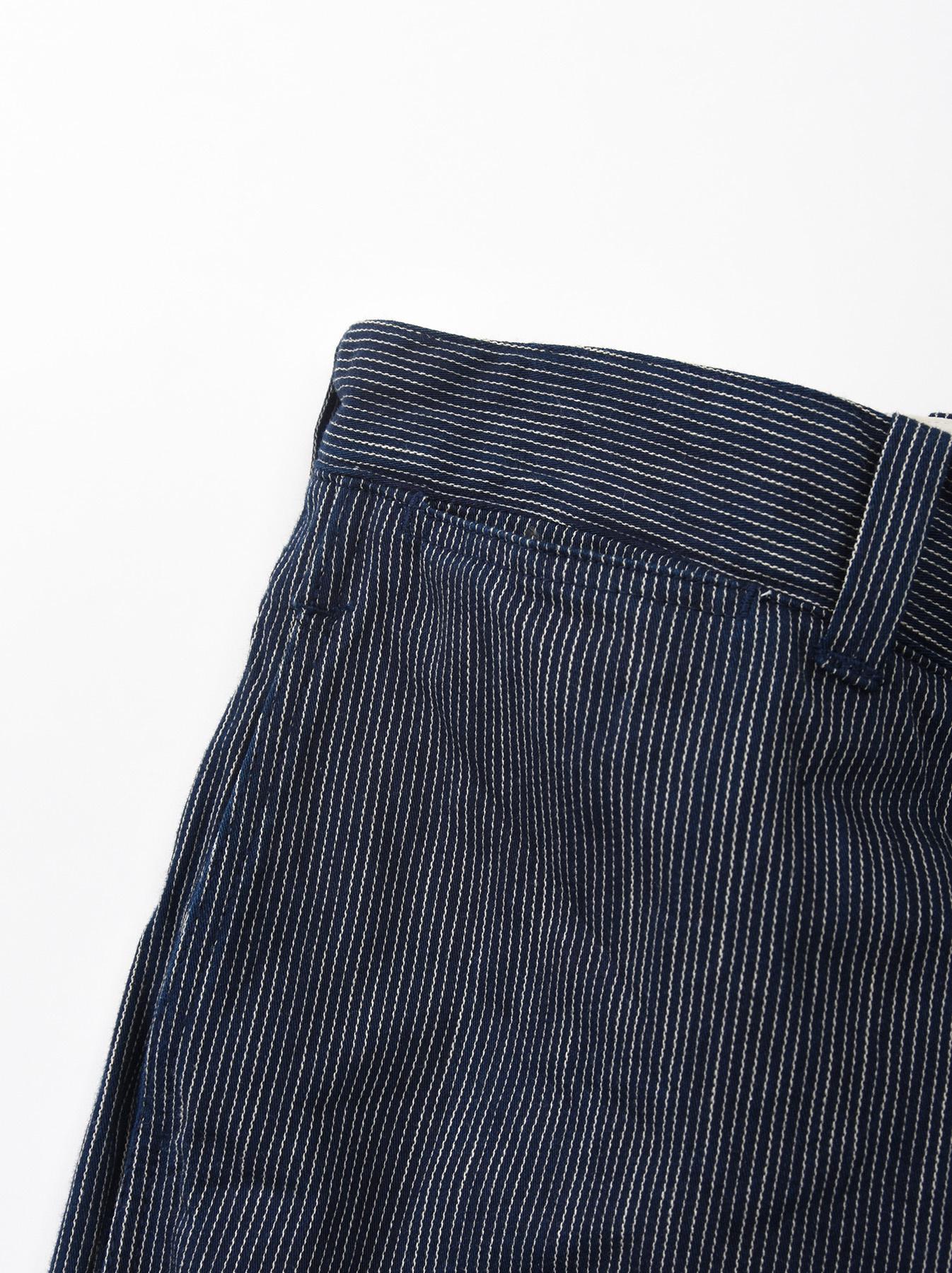 WH Indigo Mugi Yoko-shusi Work Pants-10