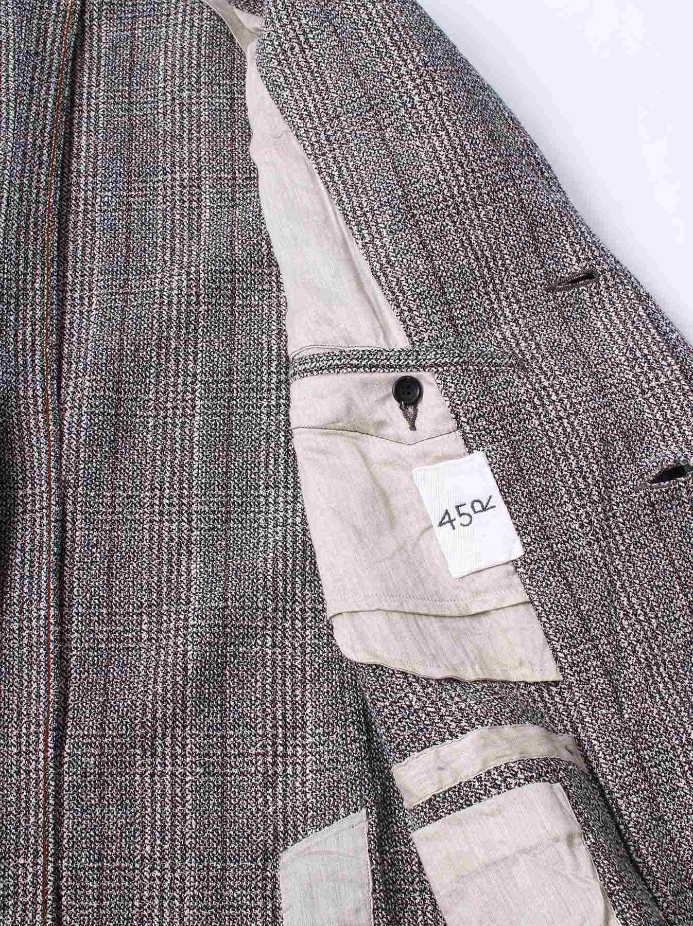 WH Mokumoku Tweed Jacket-4