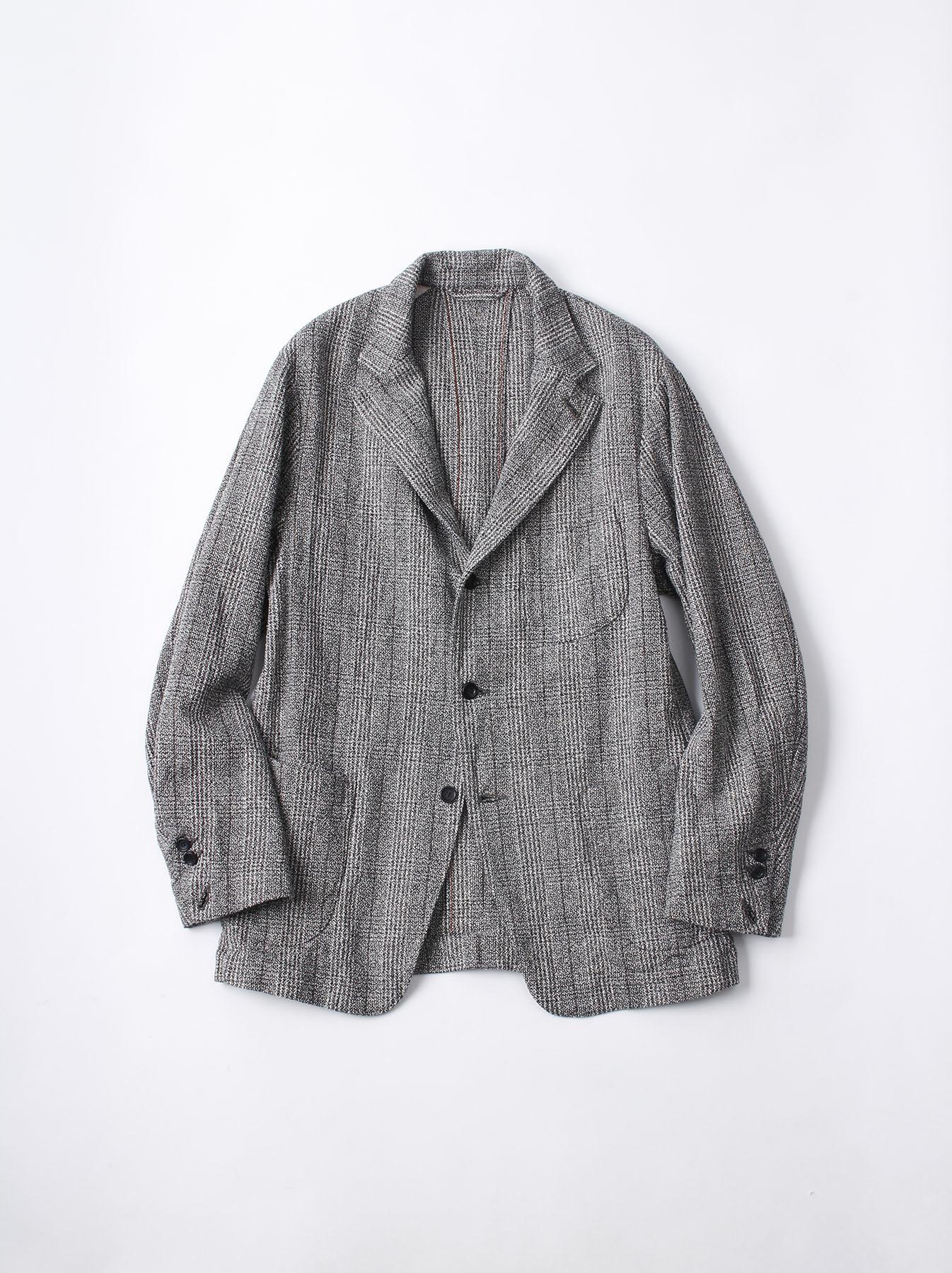 WH Mokumoku Tweed Jacket-1