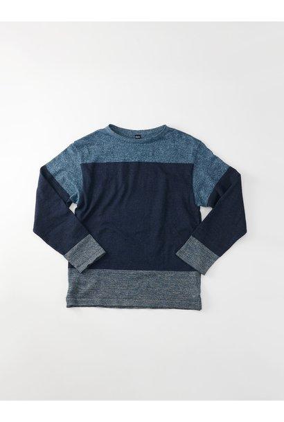 WH Gauze Basque Knit T-shirt